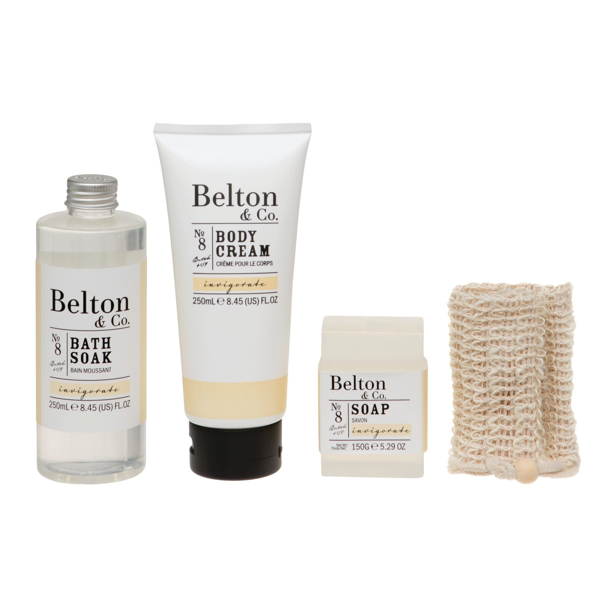 Image of Belton and Co Invigorate Bath and Body Set