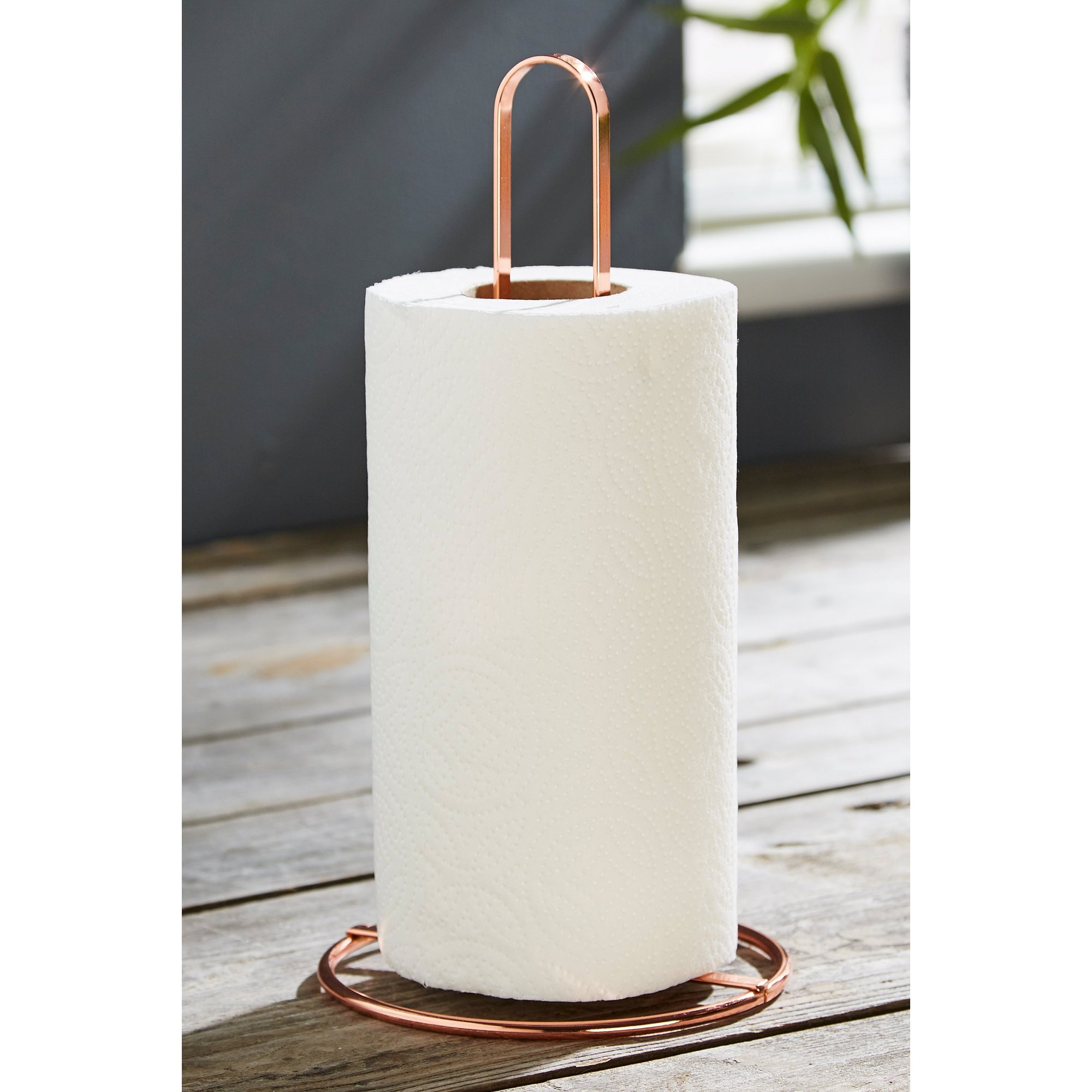 Image of Copper Kitchen Roll Holder