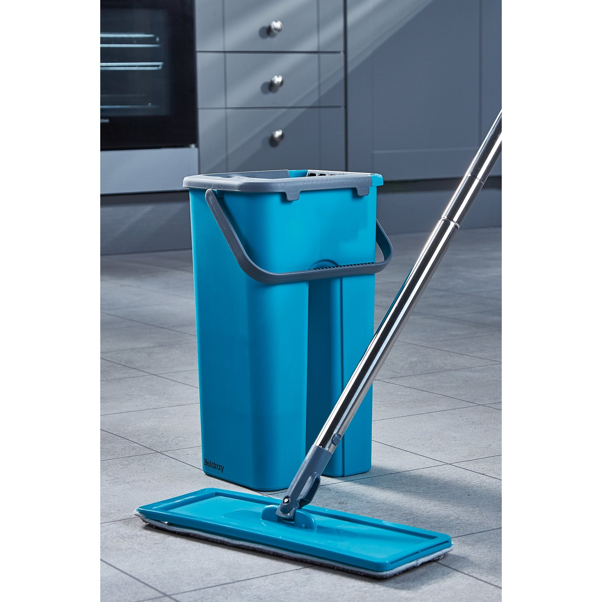 Image of Beldray Flat Mop and Bucket