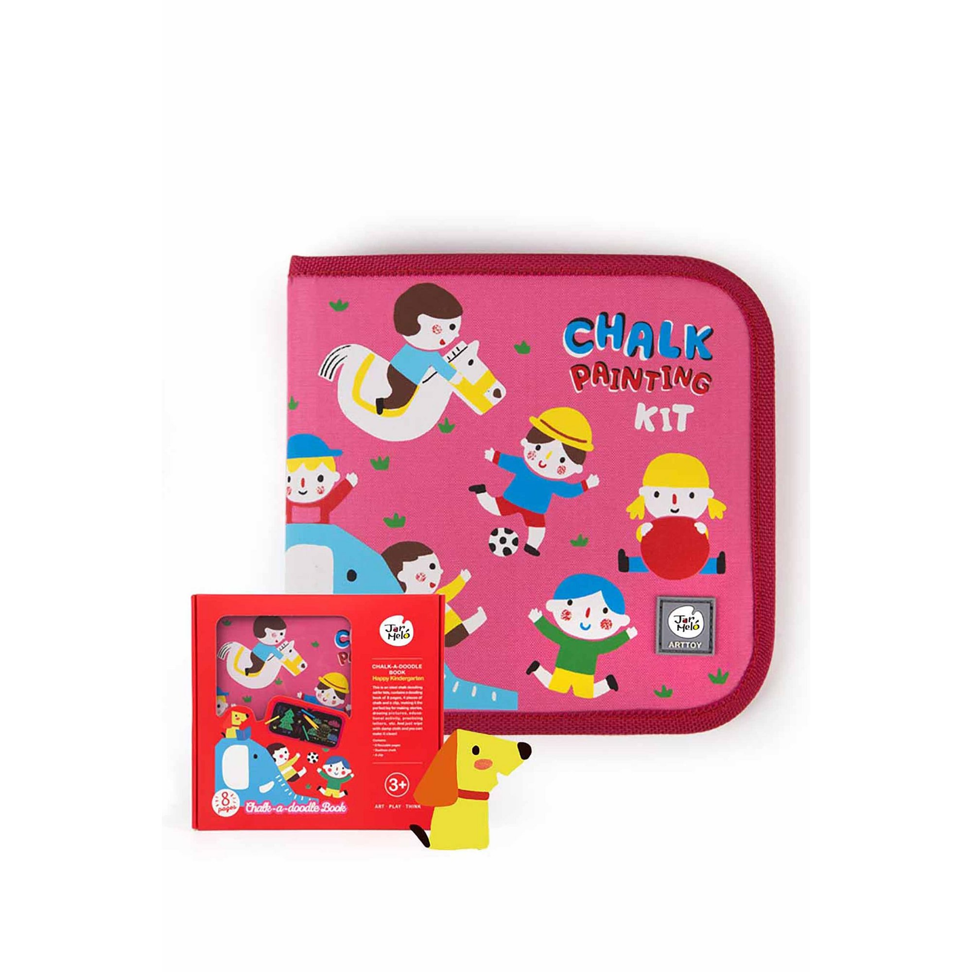 Image of Happy Kindergarten Chalk-A-Doodle Book