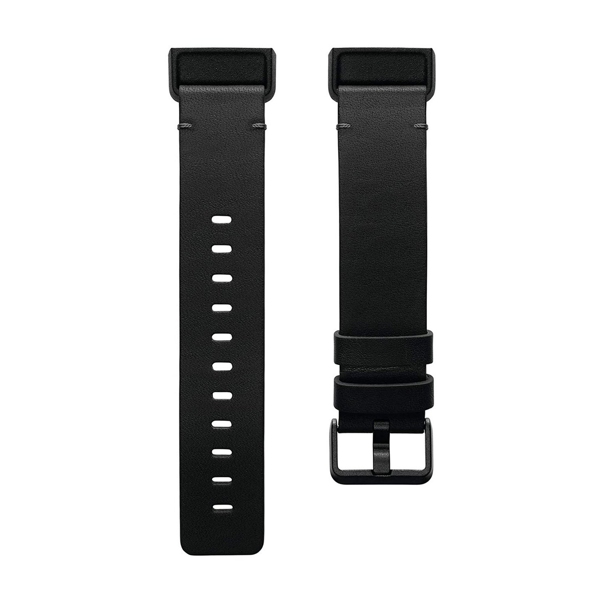 Image of Fitbit Charge 4 Leather Black Band