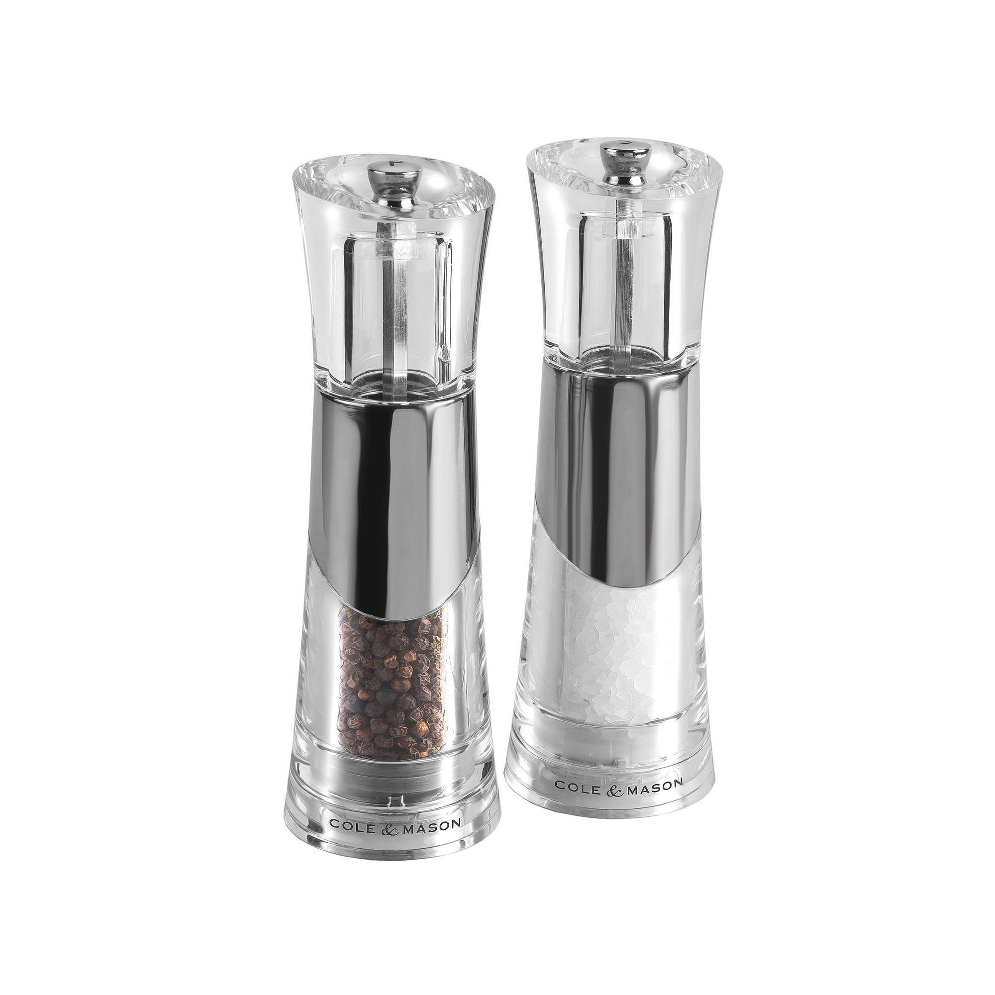 Image of Cole and Mason Bobbi Precision Salt and Pepper Mill Gift Set