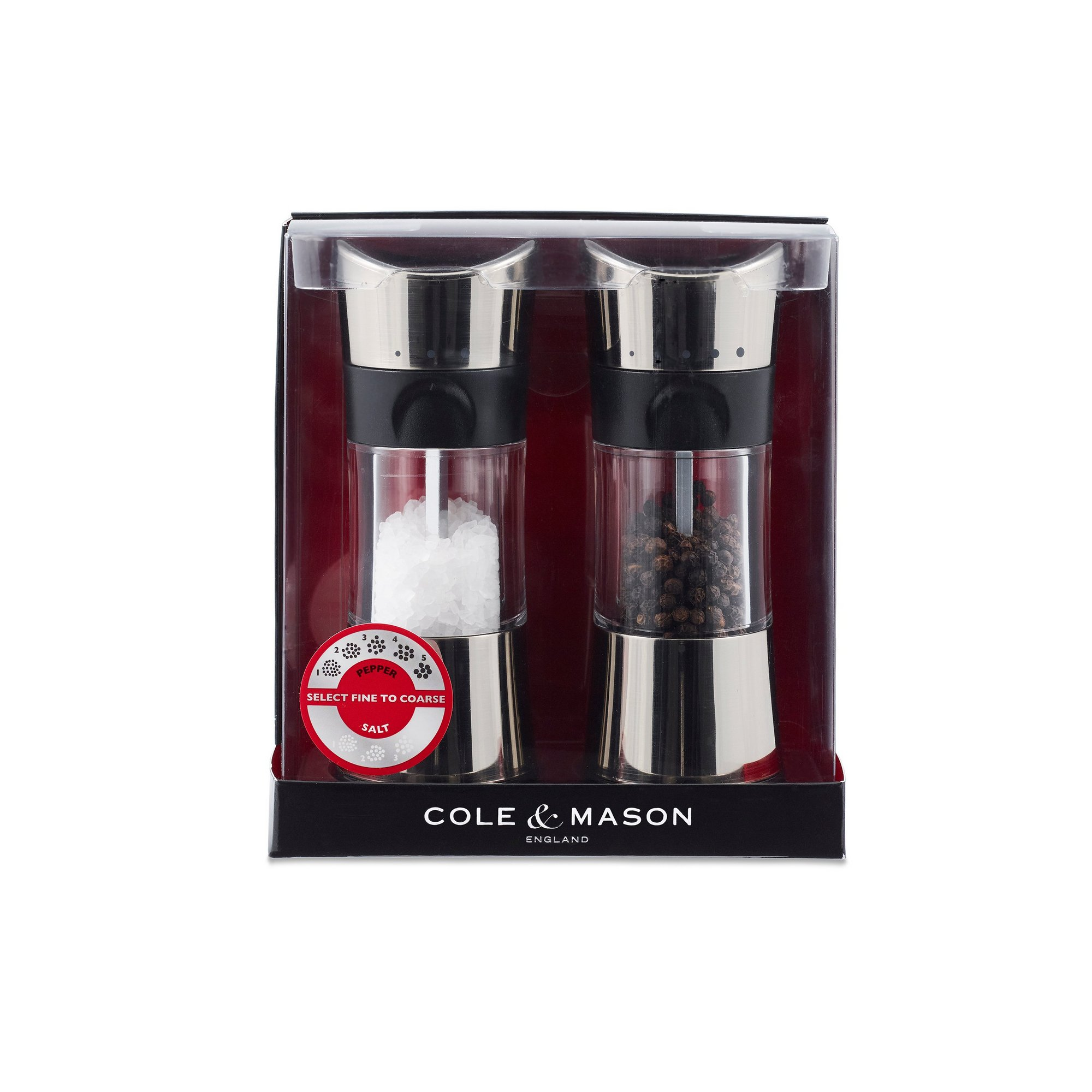 Image of Cole and Mason Horsham Salt and Pepper Mill Gift Set