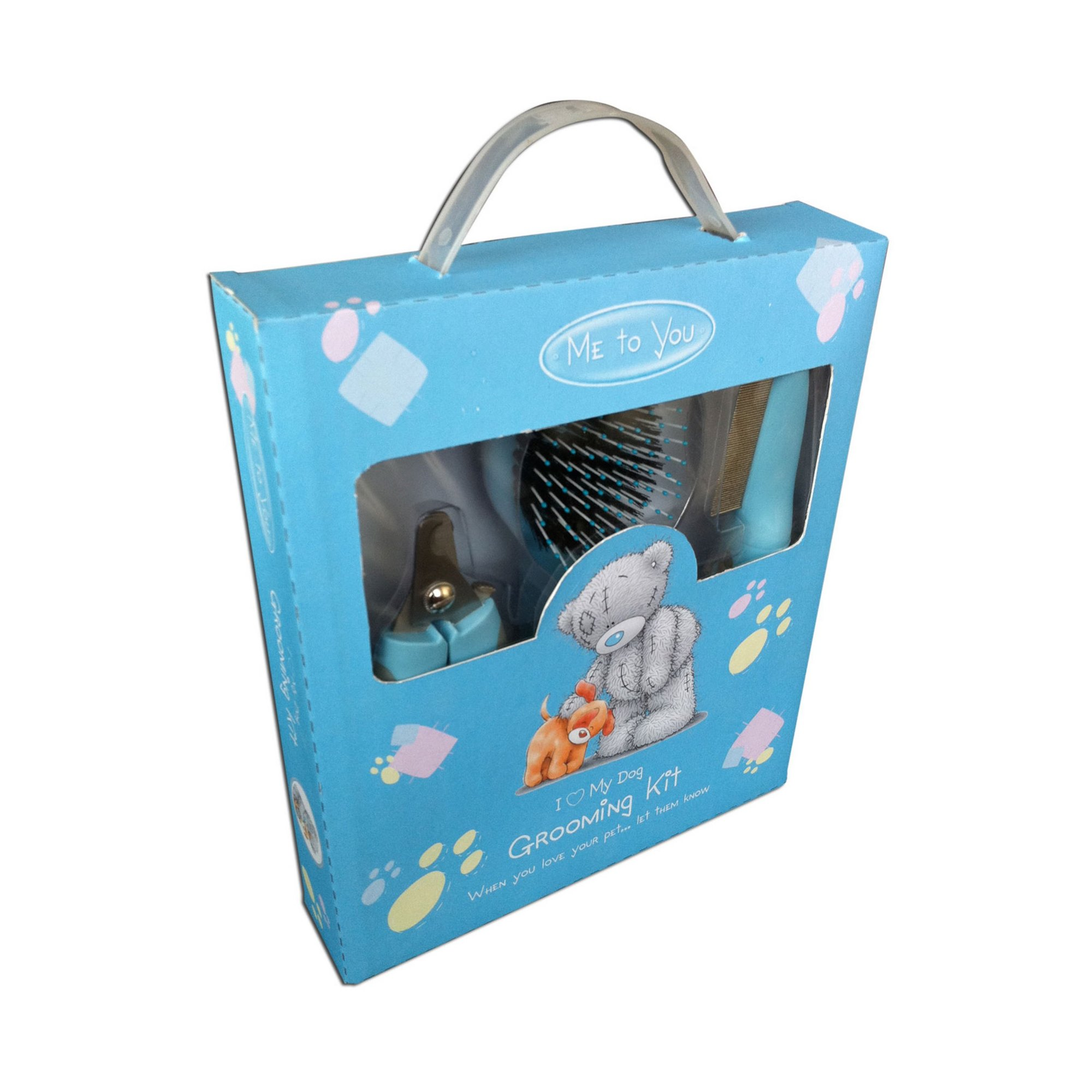 Image of Me to You I Love My Dog Grooming Kit