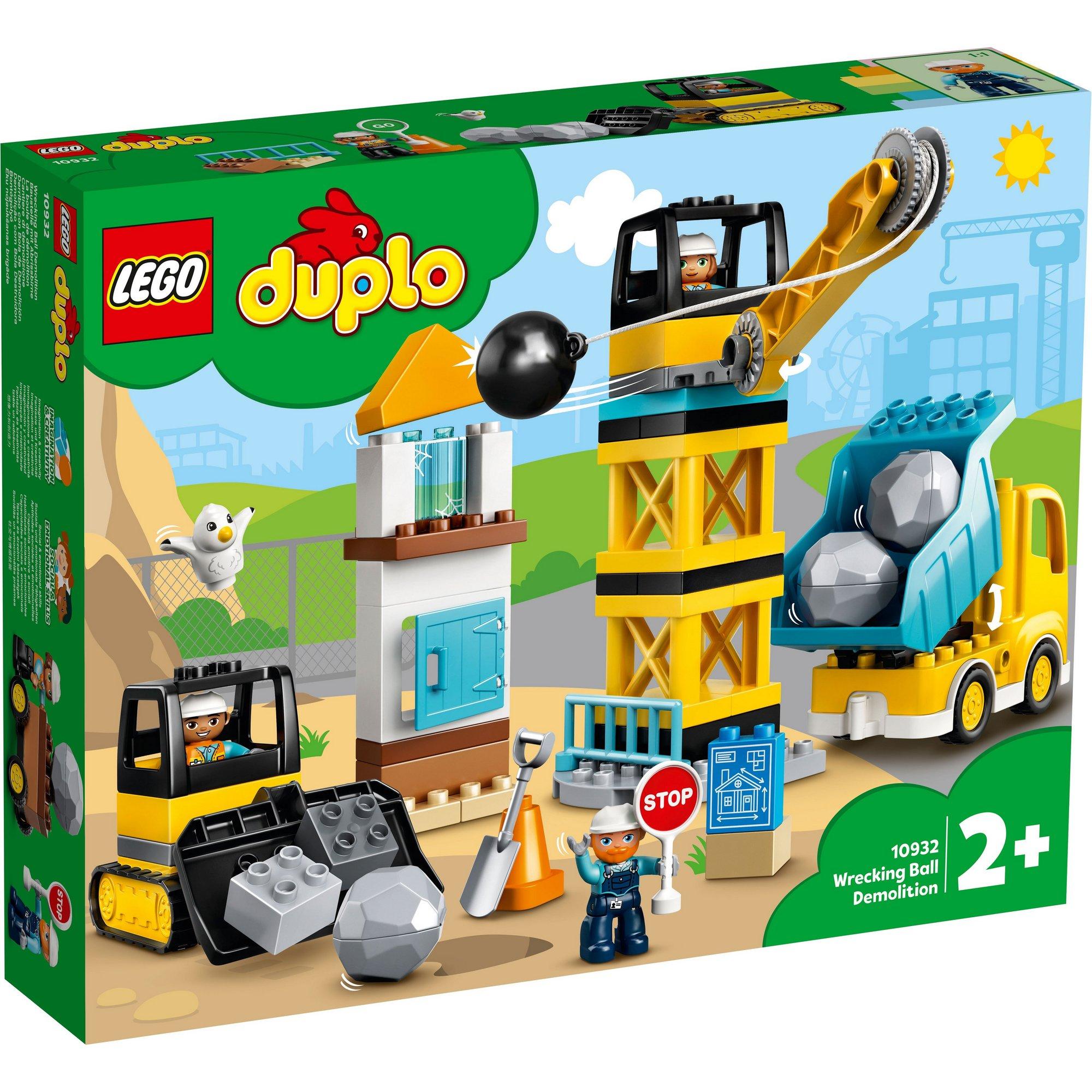 Image of LEGO DUPLO Town Wrecking Ball Demolition
