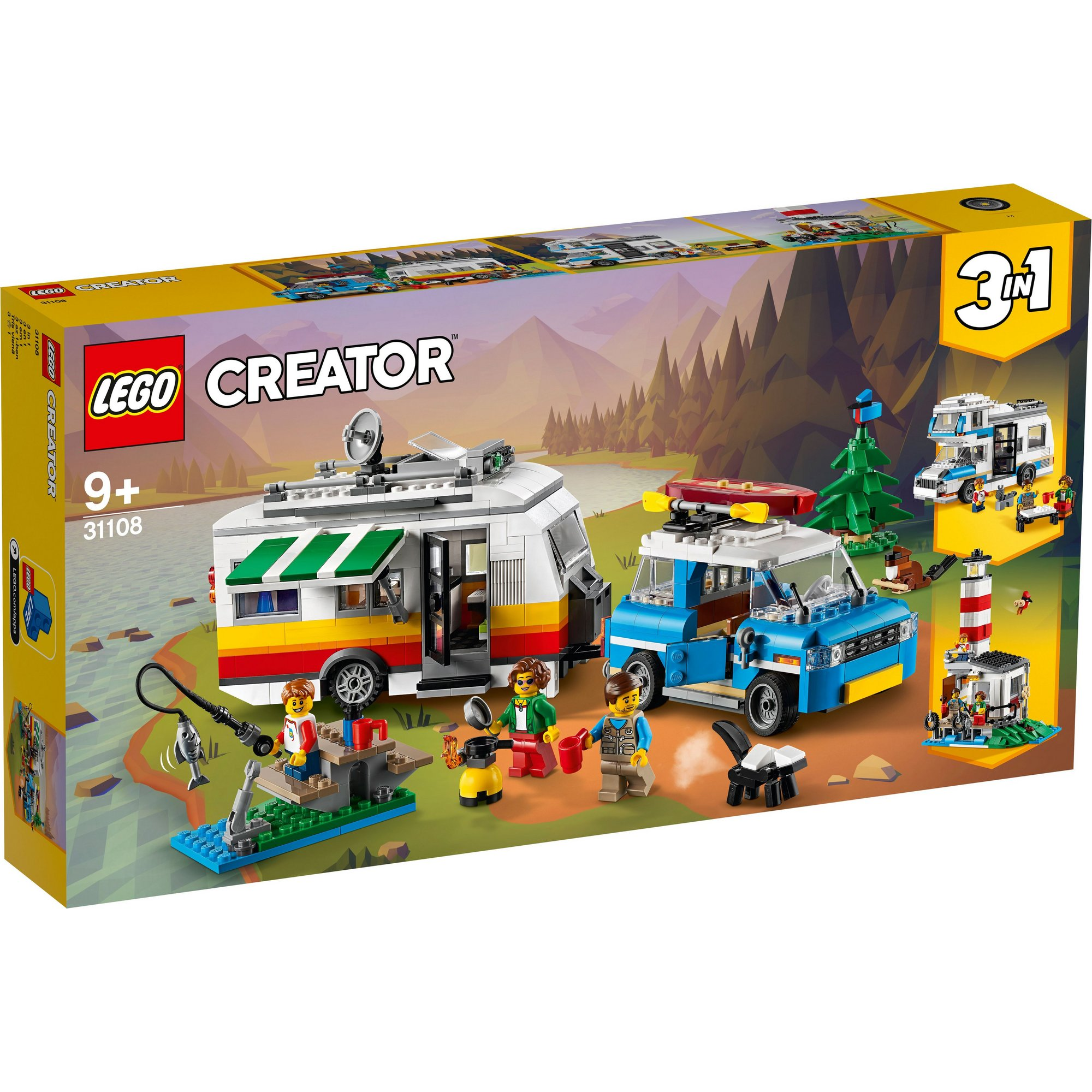 Image of LEGO Creator Caravan Family Holiday