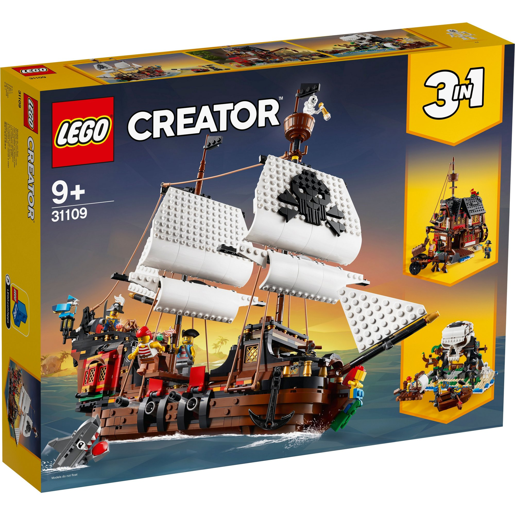 Image of LEGO Creator Pirate Ship