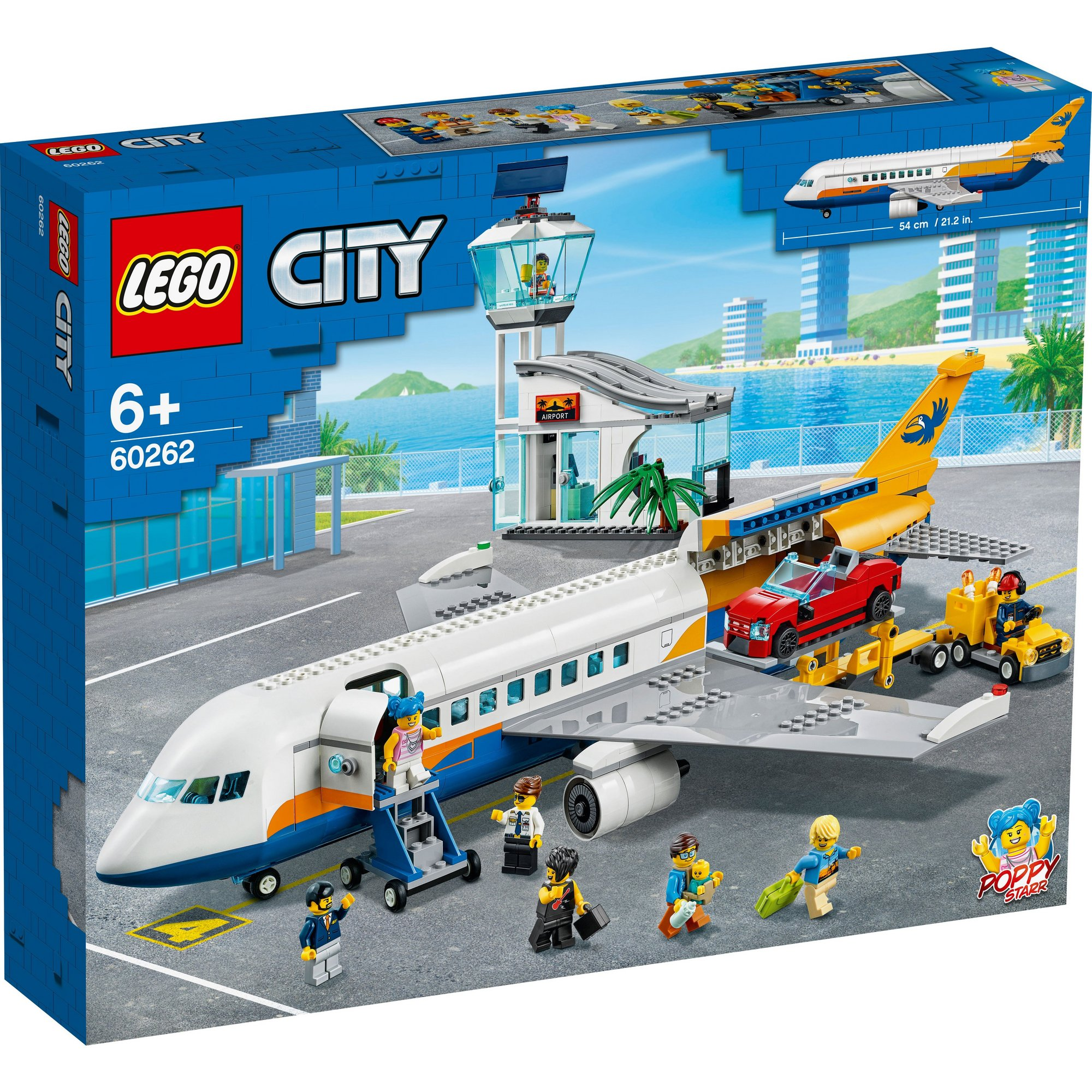 Image of LEGO City Airport Passenger Airplane