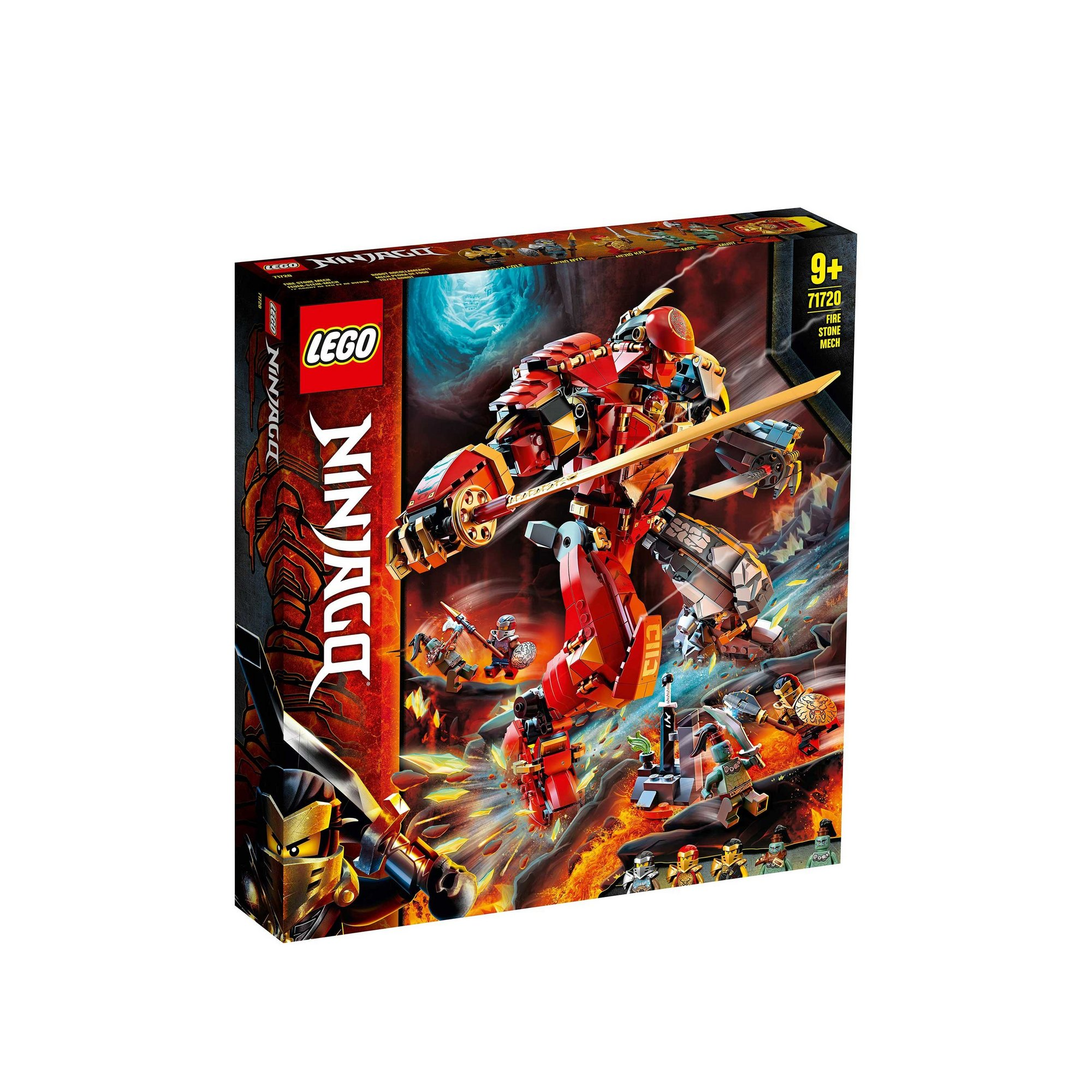 Image of LEGO Ninjago Fire Stone Mech