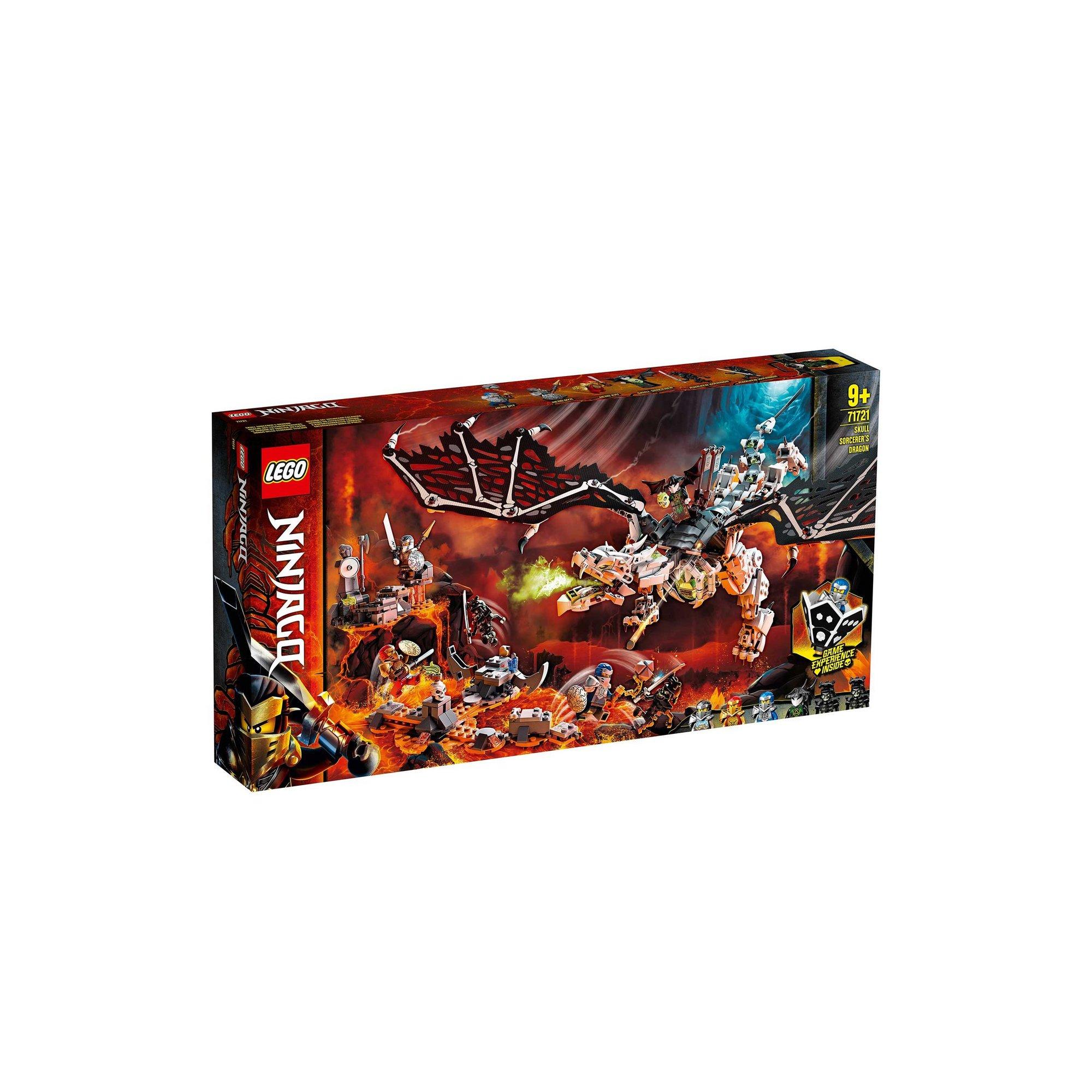 Image of LEGO Ninjago Skull Sorcerers Dragon