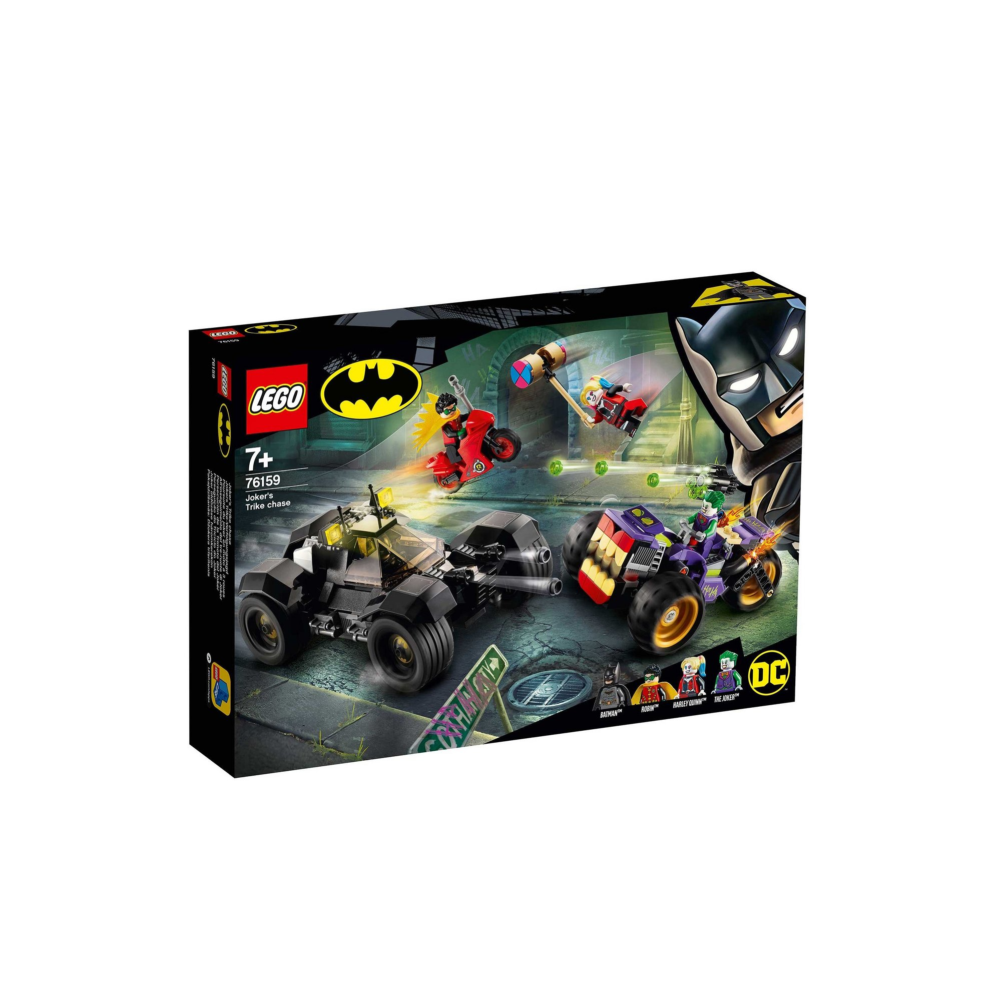 Image of LEGO Super Heroes Jokers Trike Chase