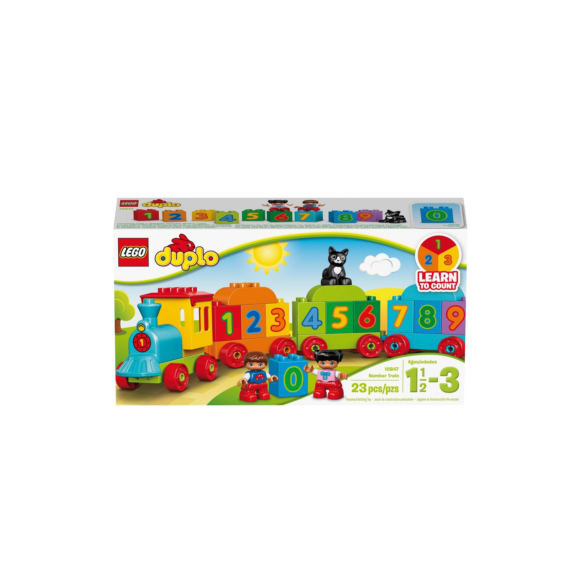 Image of LEGO Duplo My First Number Train