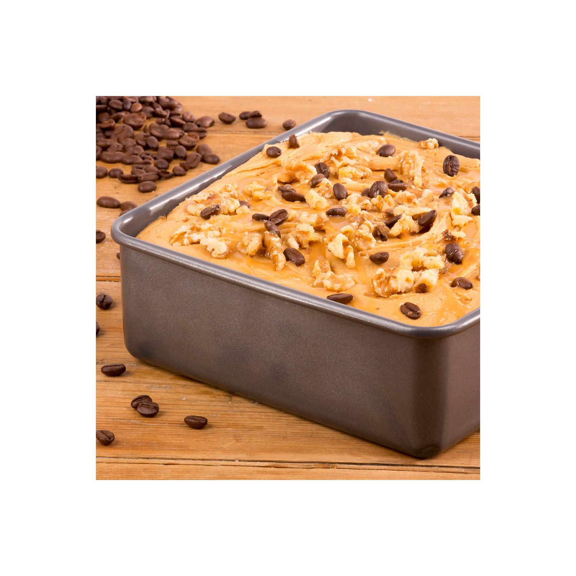 Image of Hairy Bikers 12 Inch Square Cake Pan