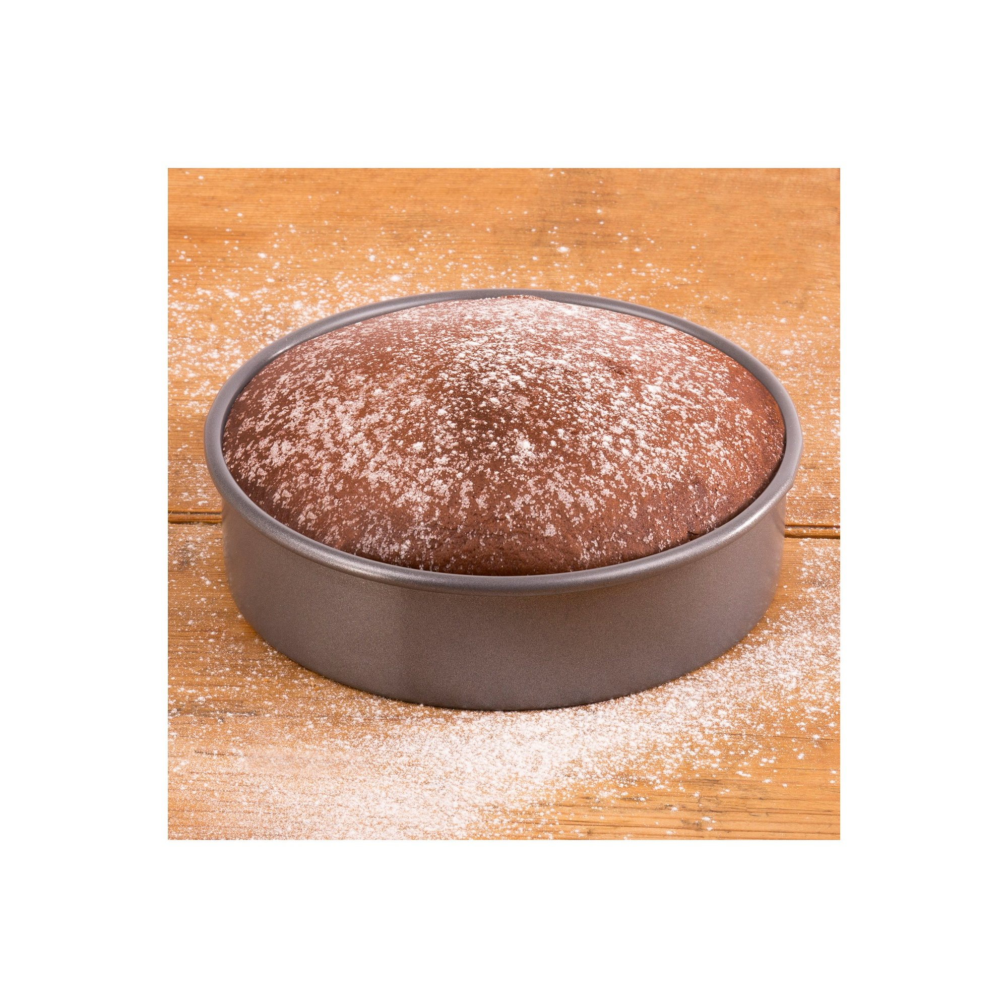 Image of Hairy Bikers Shallow Loose Base Cake Tin