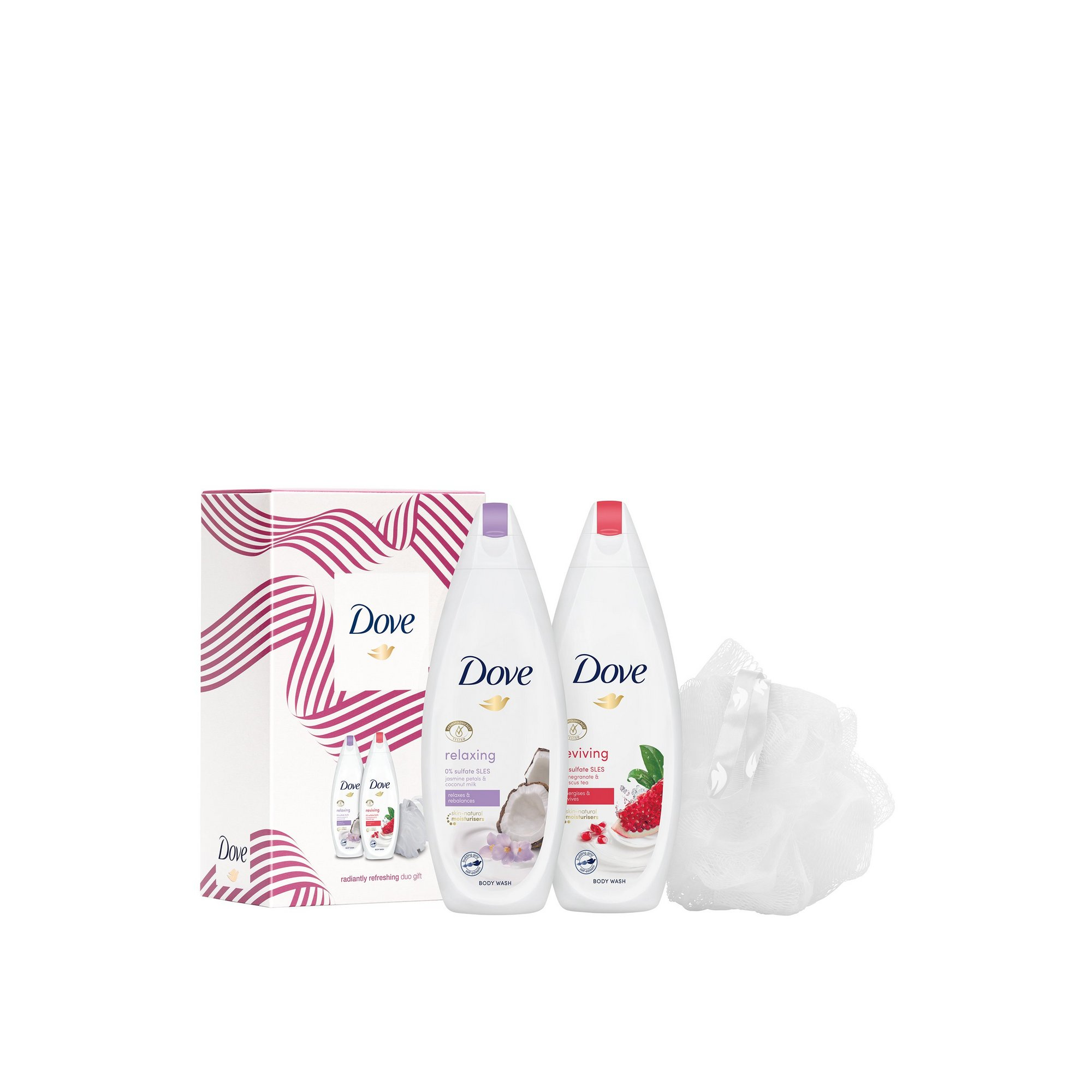 Image of Dove Radiantly Refreshing Duo Gift Set