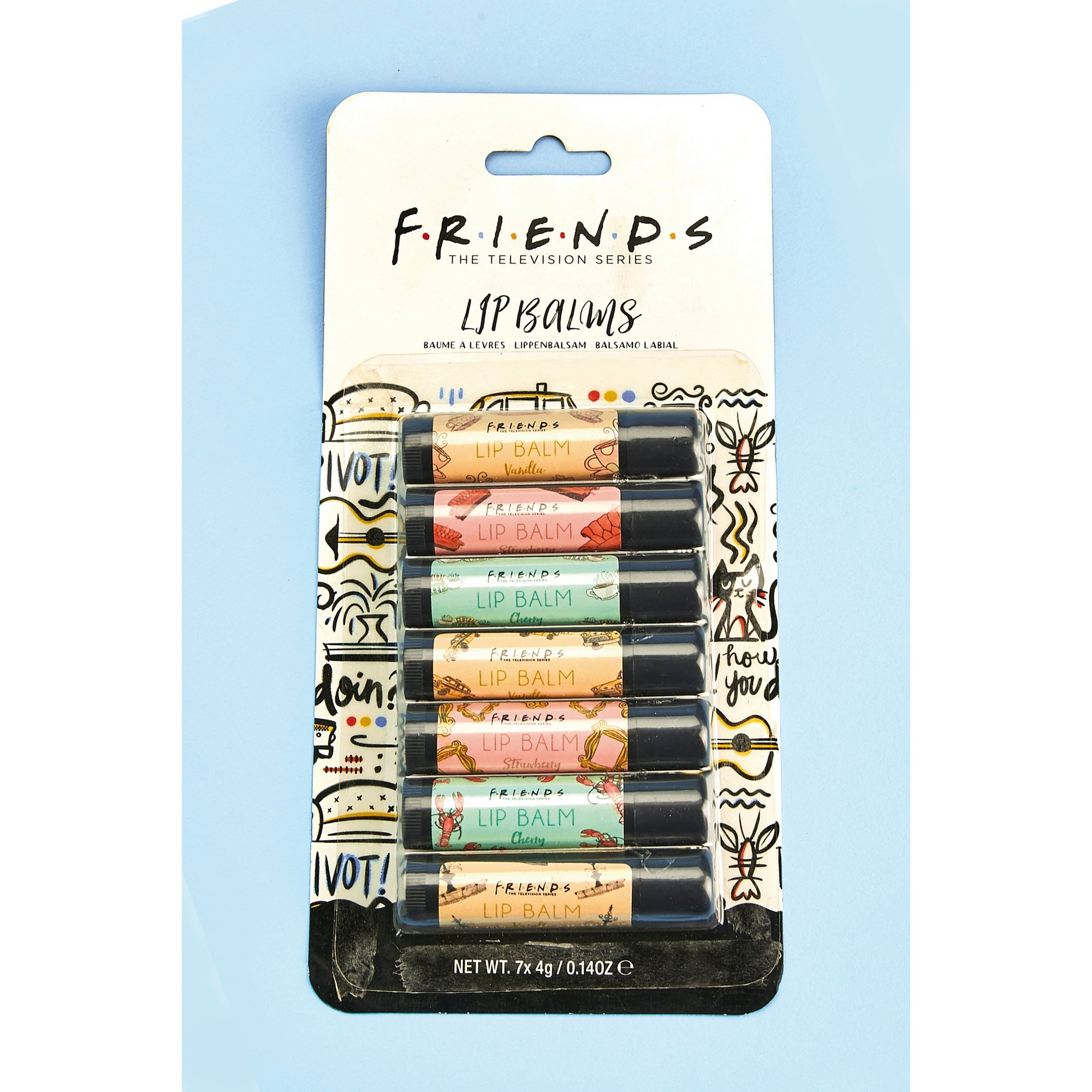 Image of Friends 7 Day Lip Balms Collection