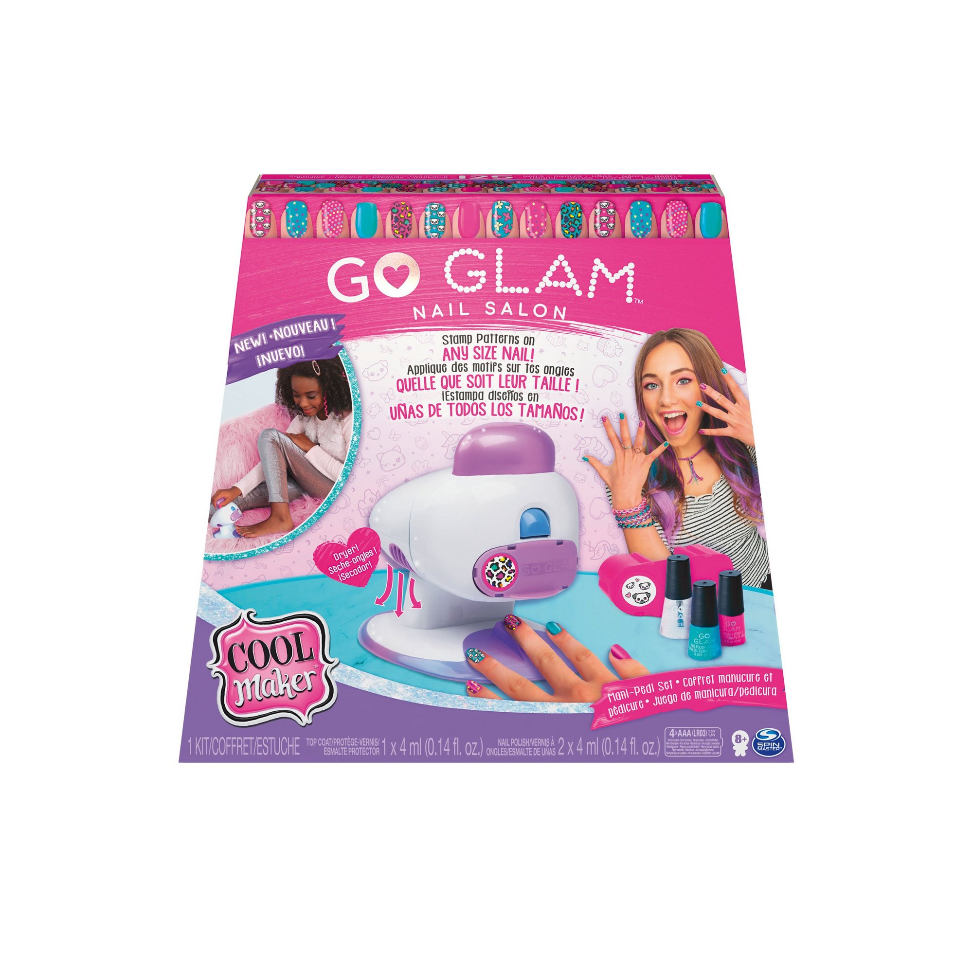 Image of Go Glam Deluxe Nail Printer Studio