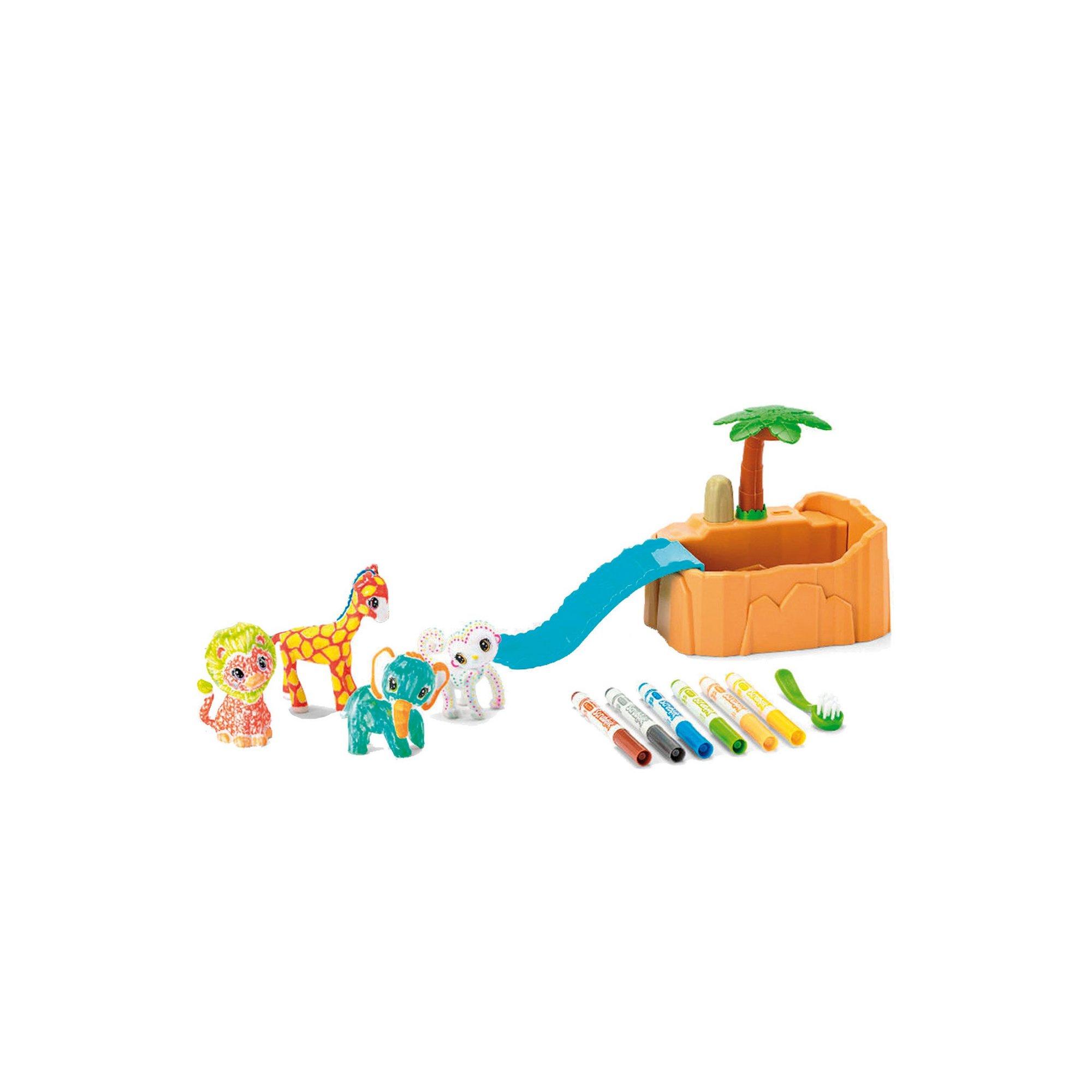 Image of Crayola Washimals Safari Play Set