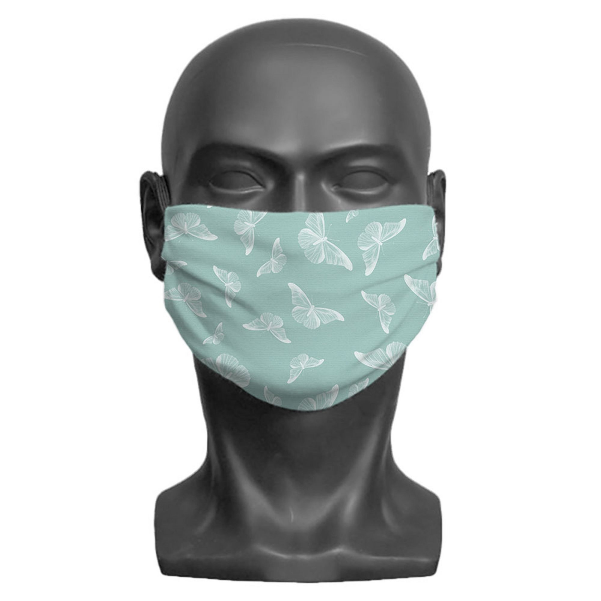 Image of Adult Butterfly Print Face Mask