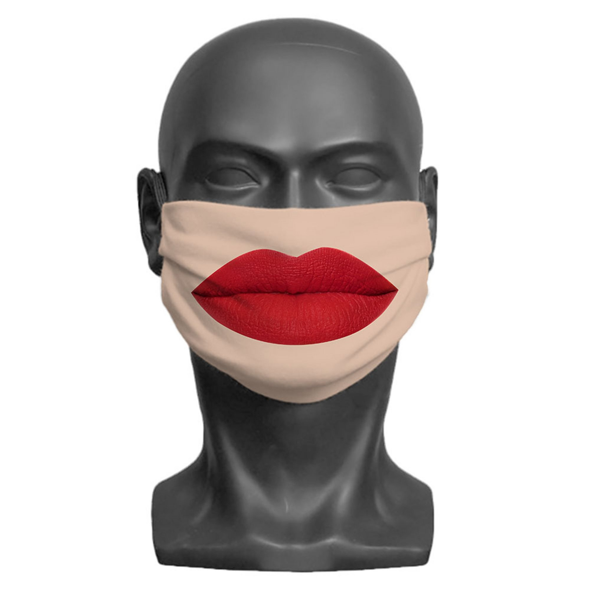 Image of Adult Lips Print Face Mask