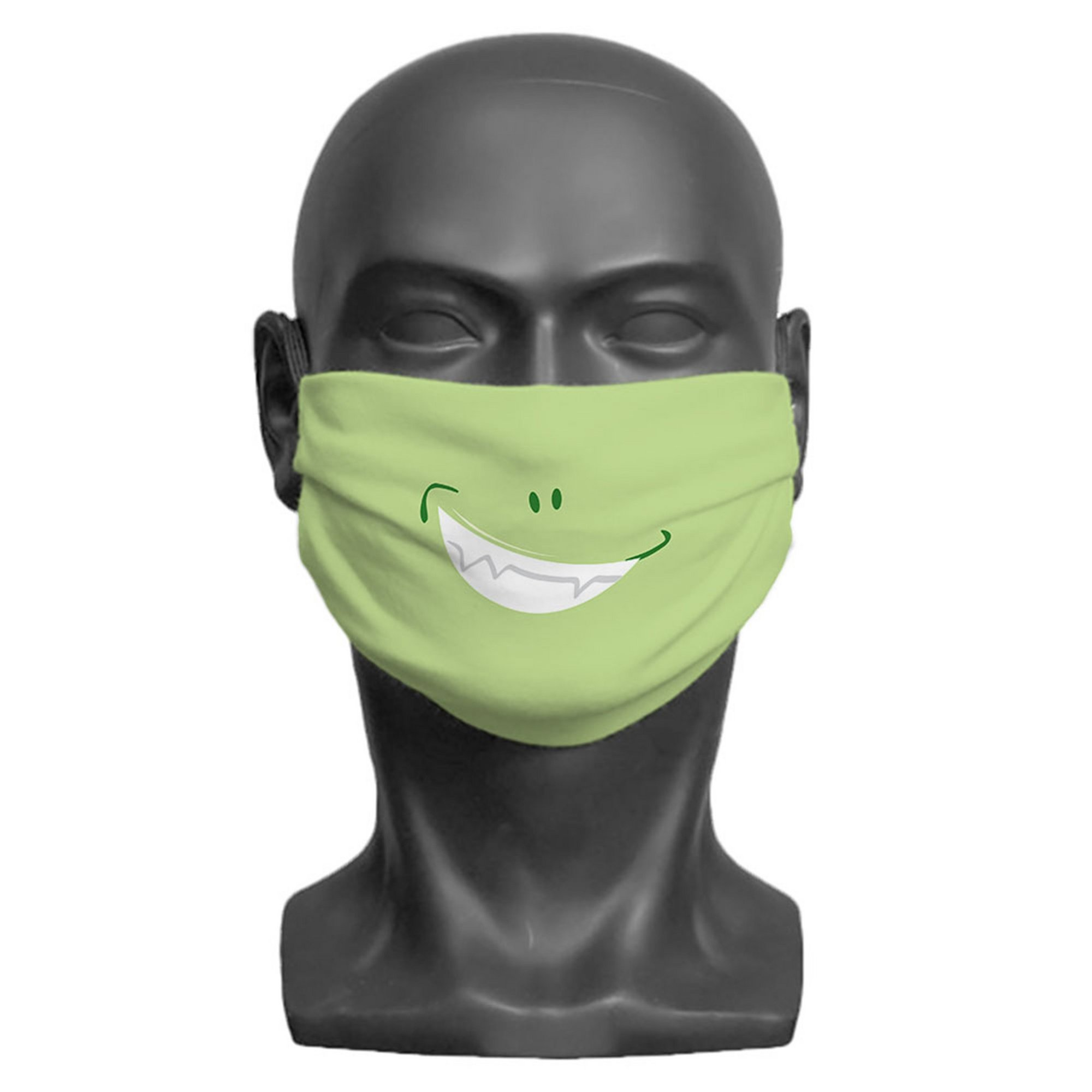 Image of Kids Little Monster Green Face Mask