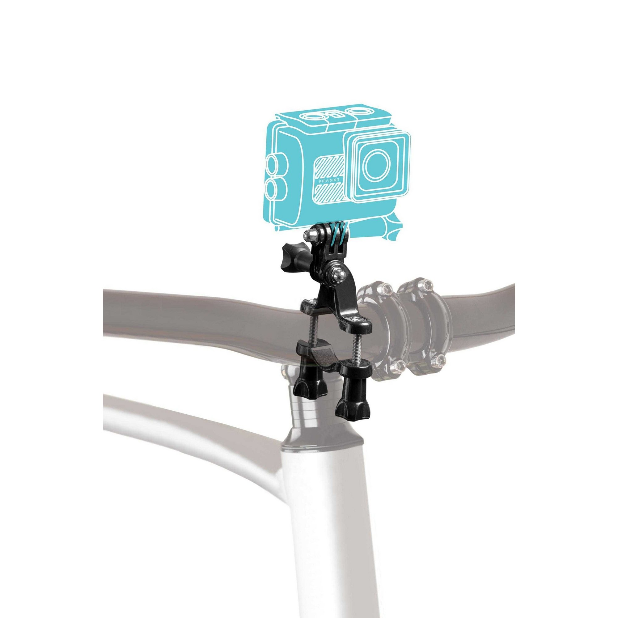 Image of KitVision Action Camera Bike Mount