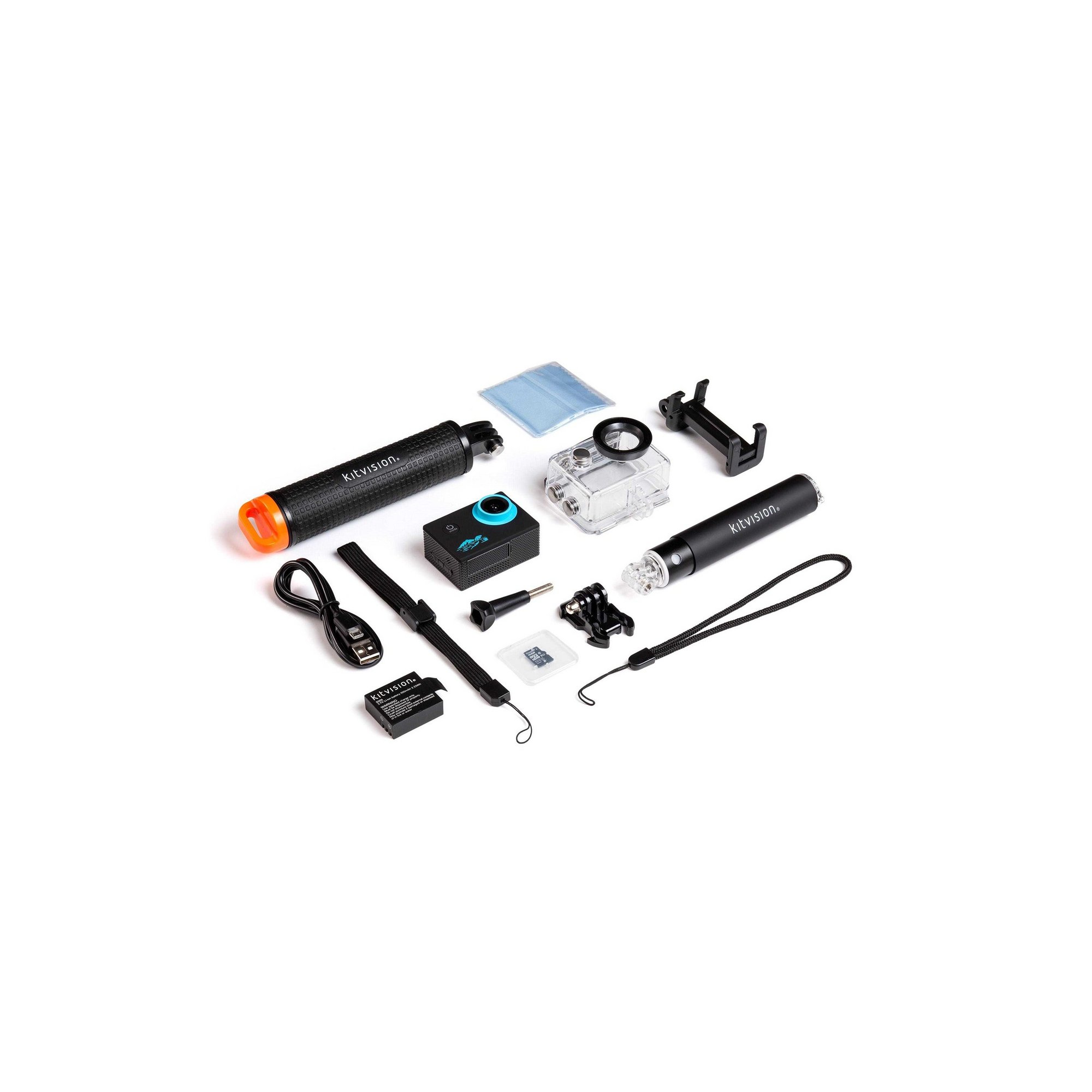 Image of KitVision Adventure Pack with Action Camera and Accessories