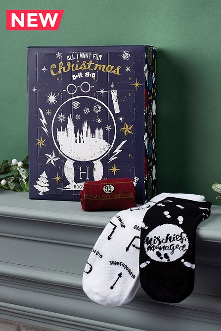 NEW Harry Potter Sock Advent Calendar £24.99 @ Studio