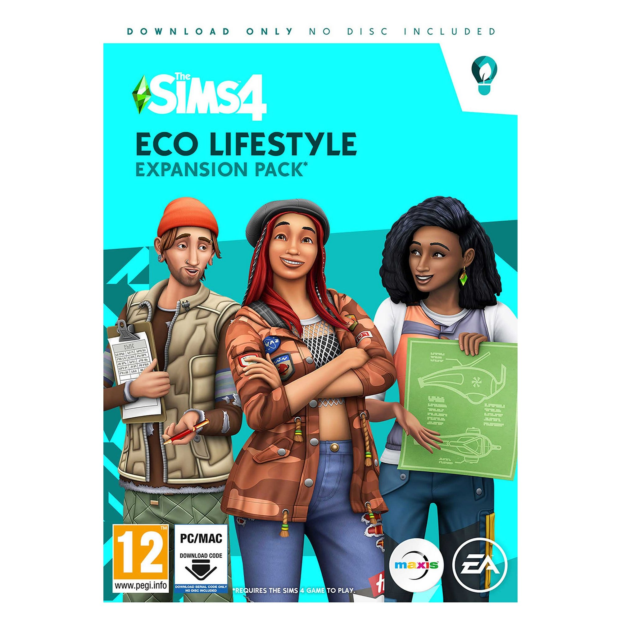 Image of Sims 4 - Eco Lifestyle Expansion Pack