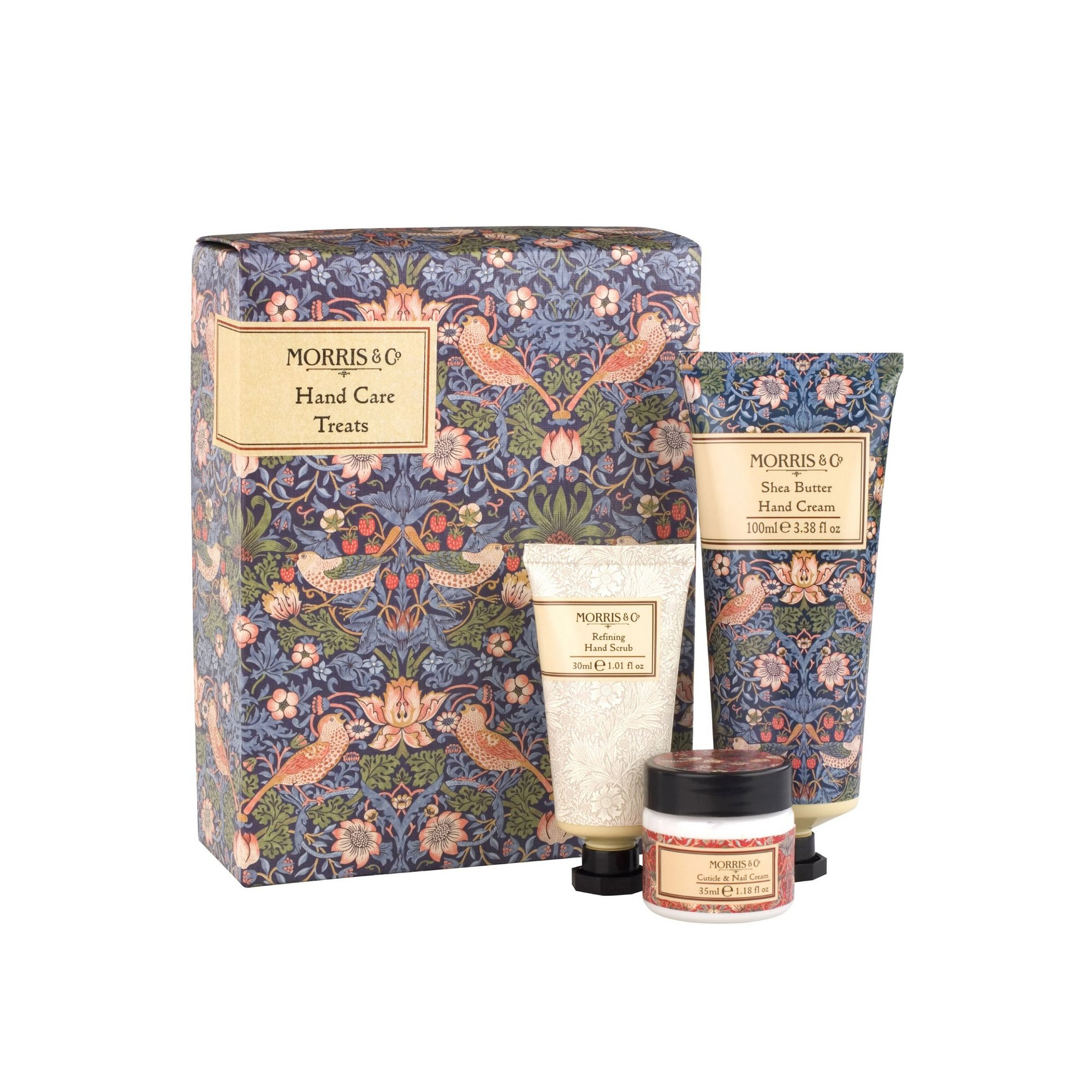 Image of Morris and Co Strawberry Thief Hand Care Treats