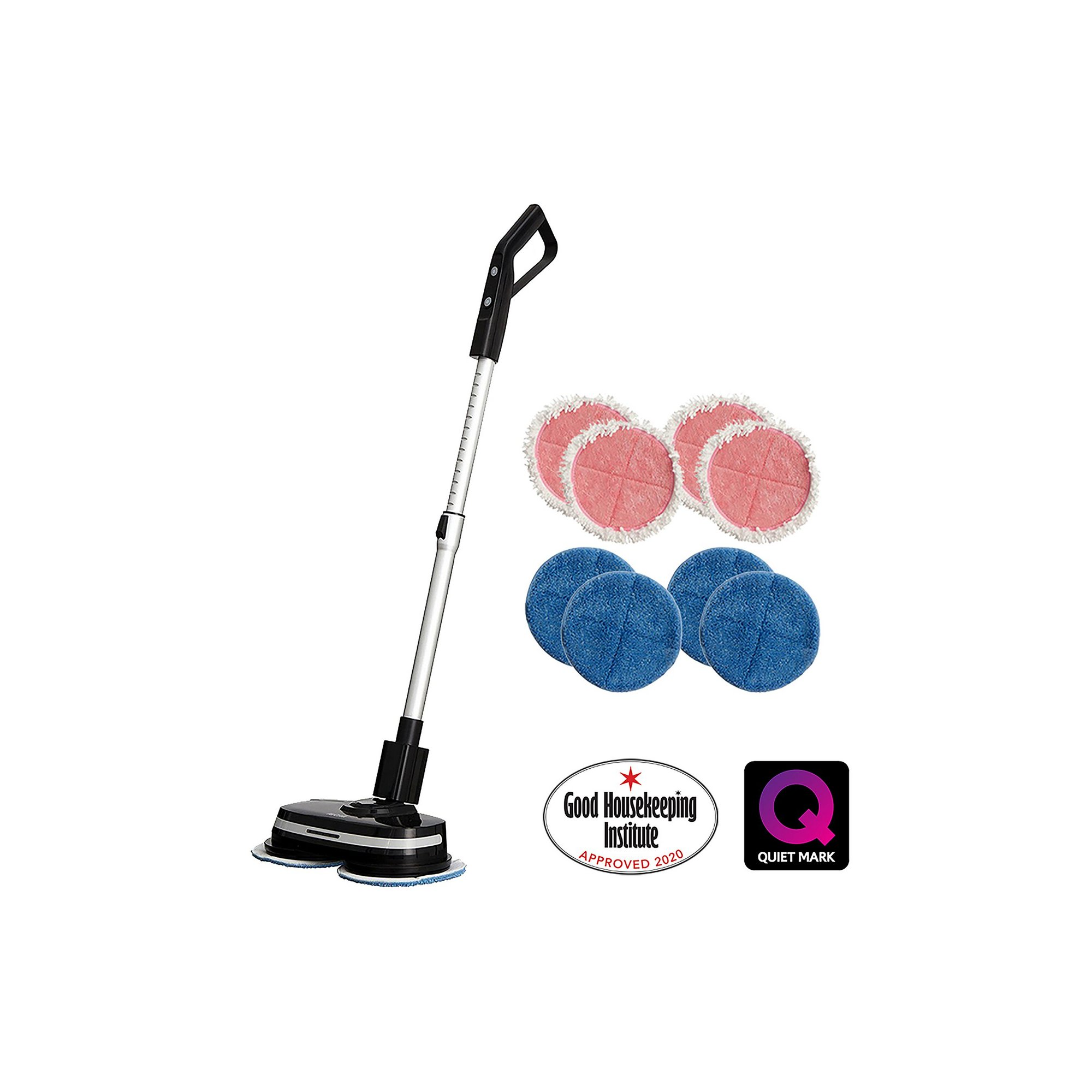 Image of AirCraft PowerGlide Cordless Hard Floor Cleaner with Extra Pads