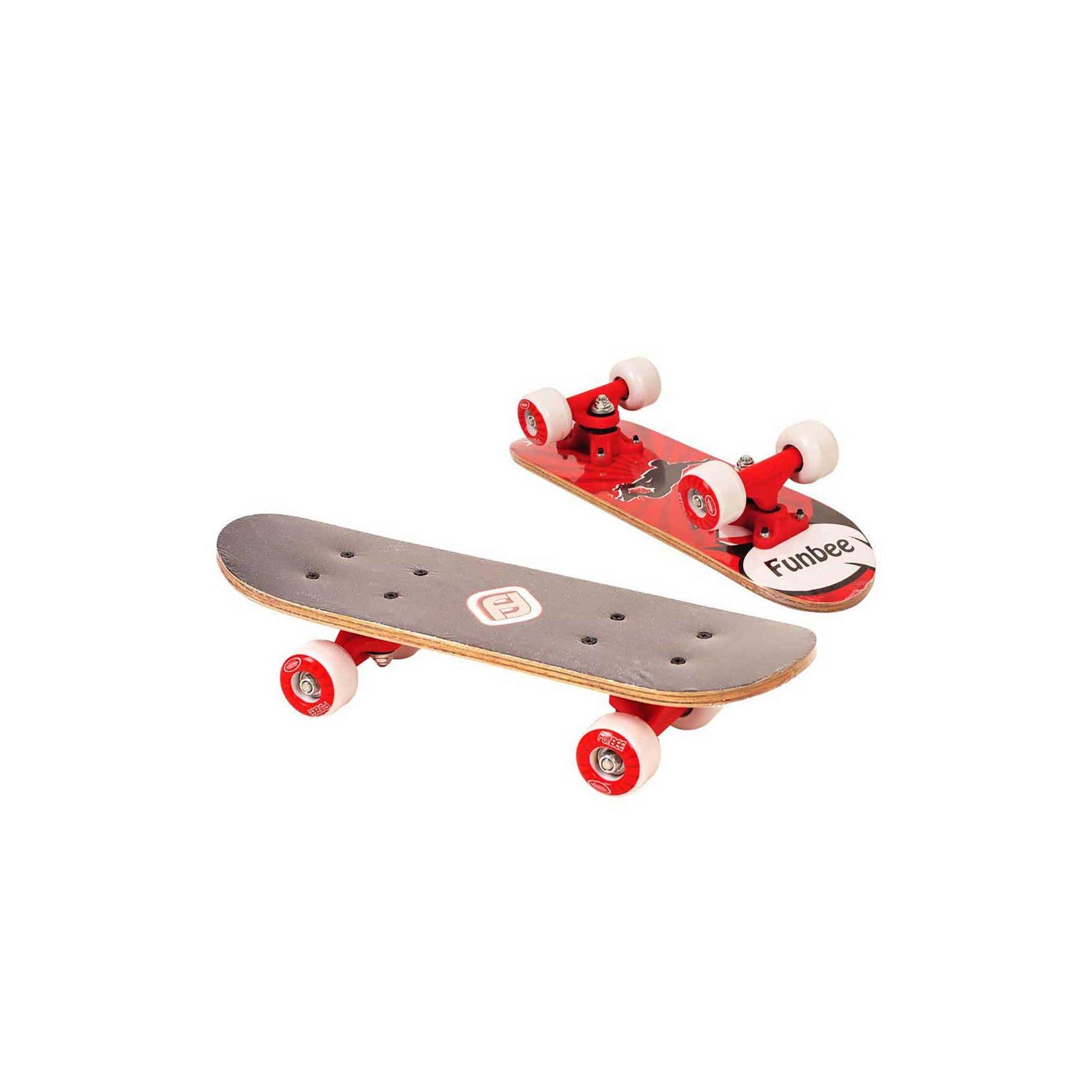 Image of Funbee Childrens 17 Inch Maple Wood Mini Skateboard Cruiser
