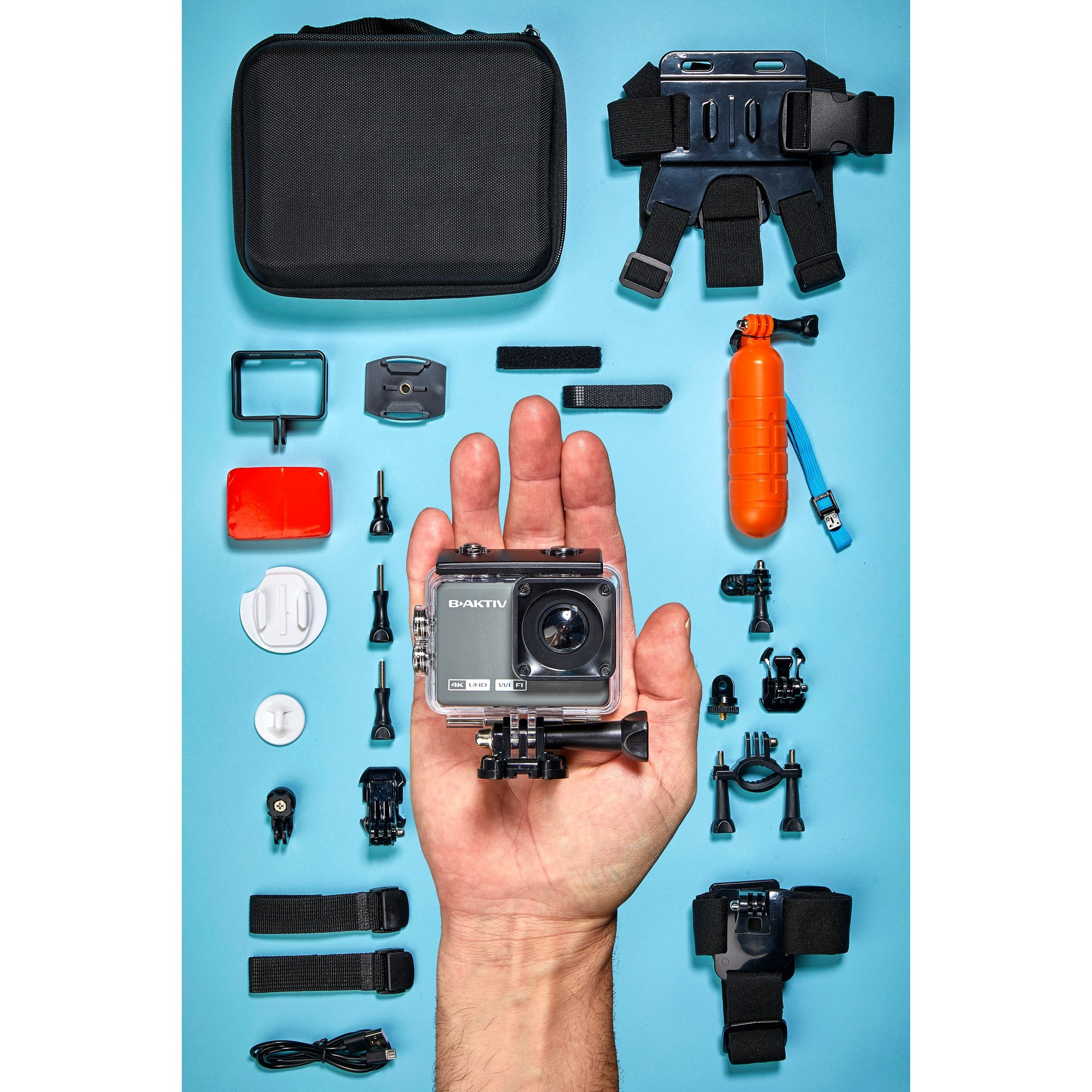 Image of B-Aktiv 4K Action Camera Kit