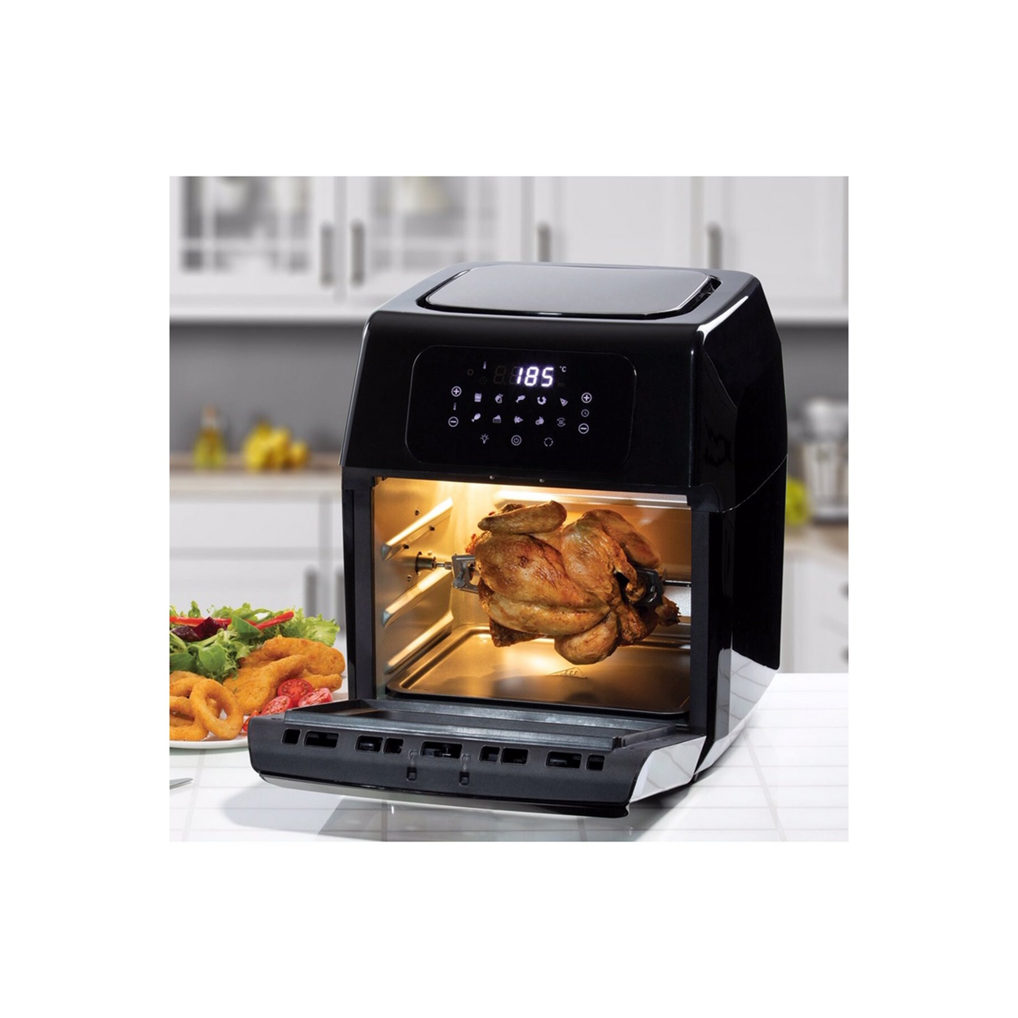 Image of Daewoo 12 Litre 1800W Rotisserie Air Fryer Oven