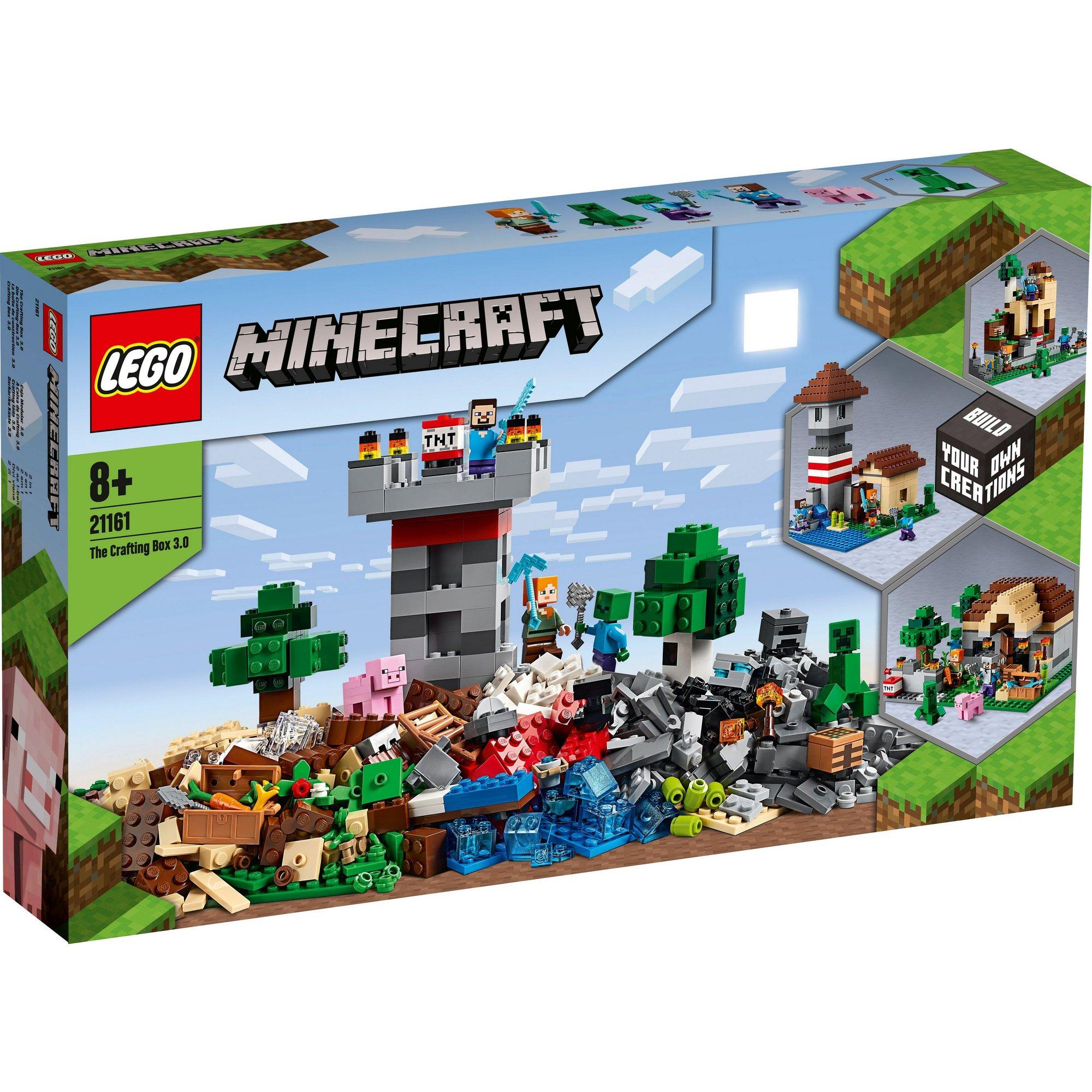 Image of LEGO Minecraft The Crafting Box 3.0
