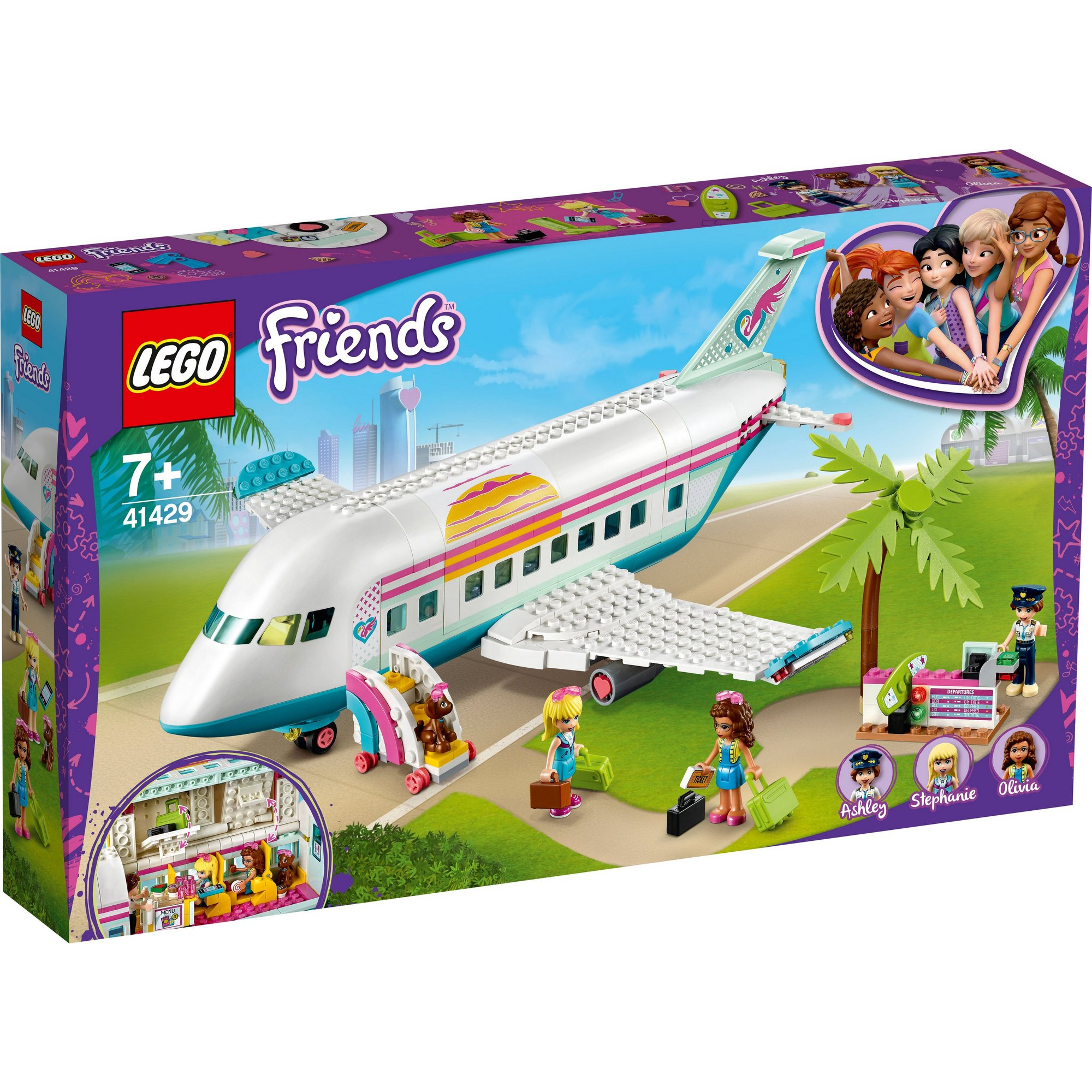 Image of LEGO Friends Heartlake City Airplane