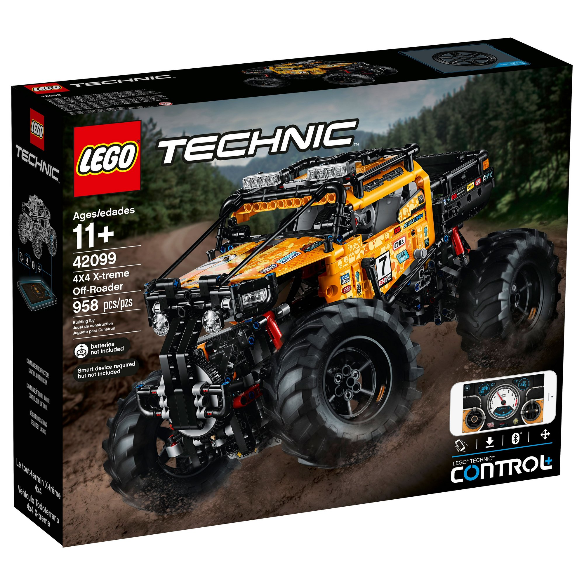 Image of LEGO Technic 4X4 X-treme Off-Roader
