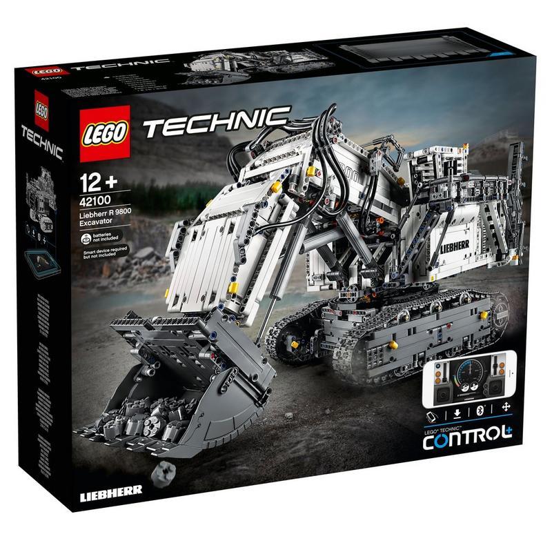 Image of LEGO Technic Liebherr R 9800 Excavator