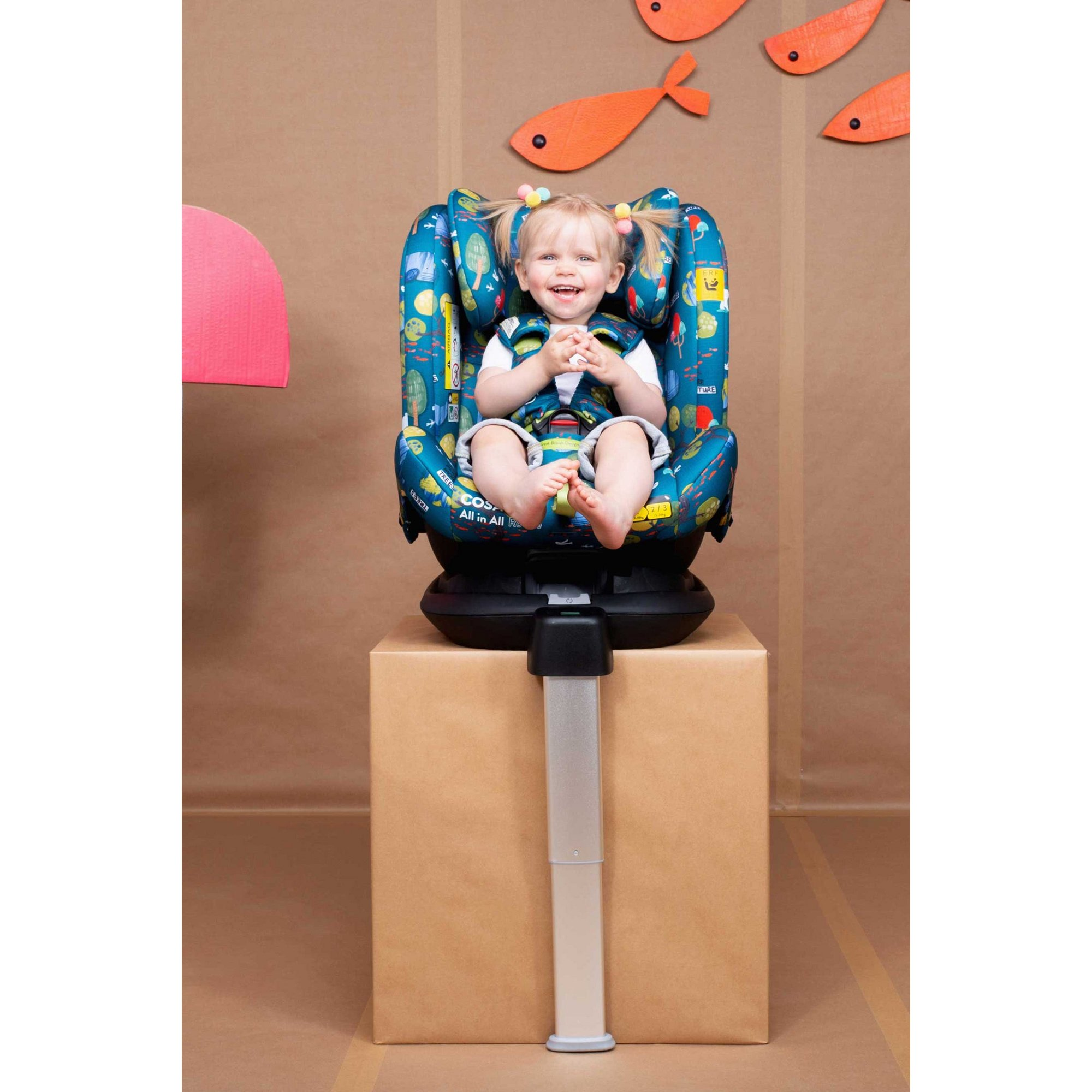 Image of Cosatto Paloma All In All Rotate Group 0+123 Car Seat Eco
