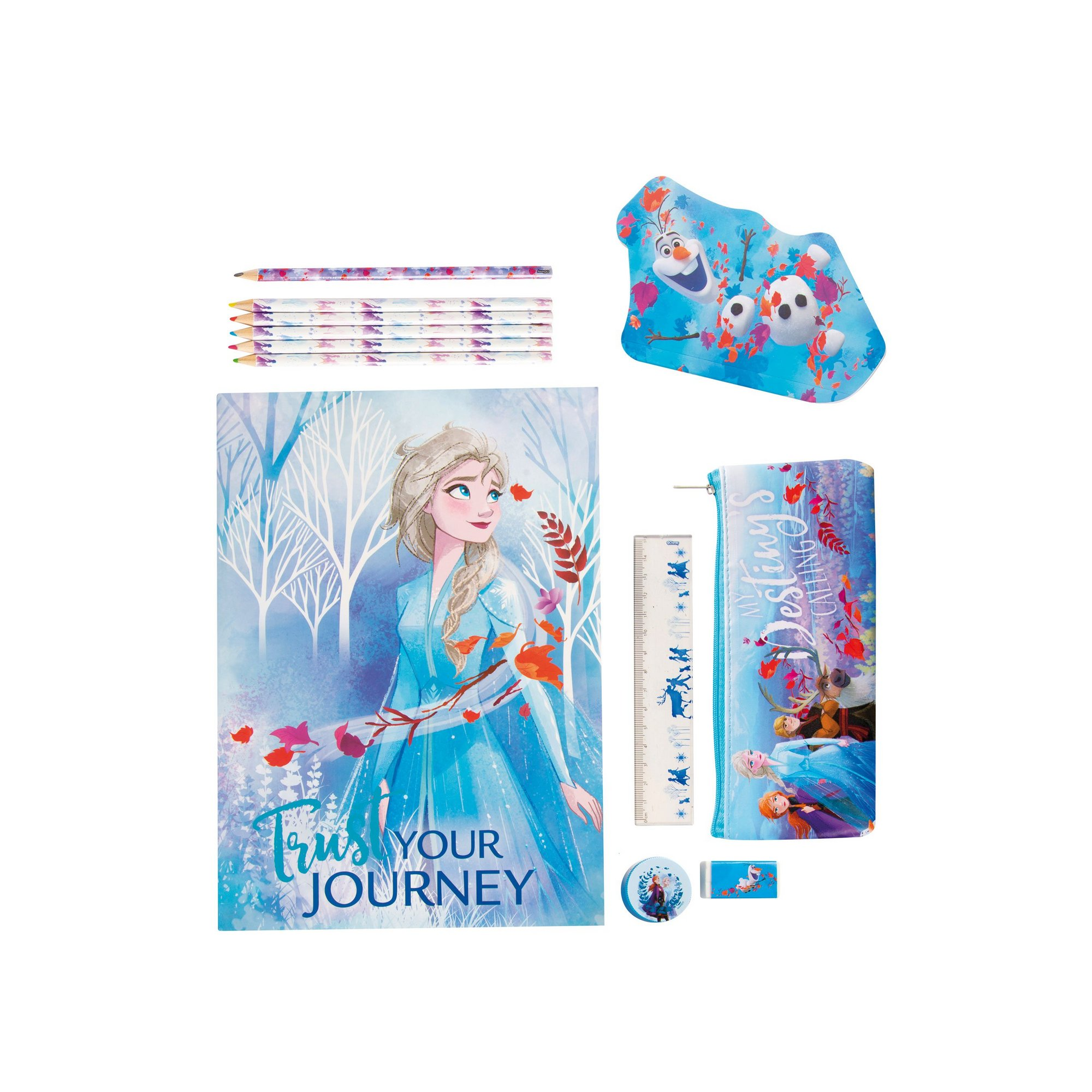 Image of Bumper Frozen Stationery Set