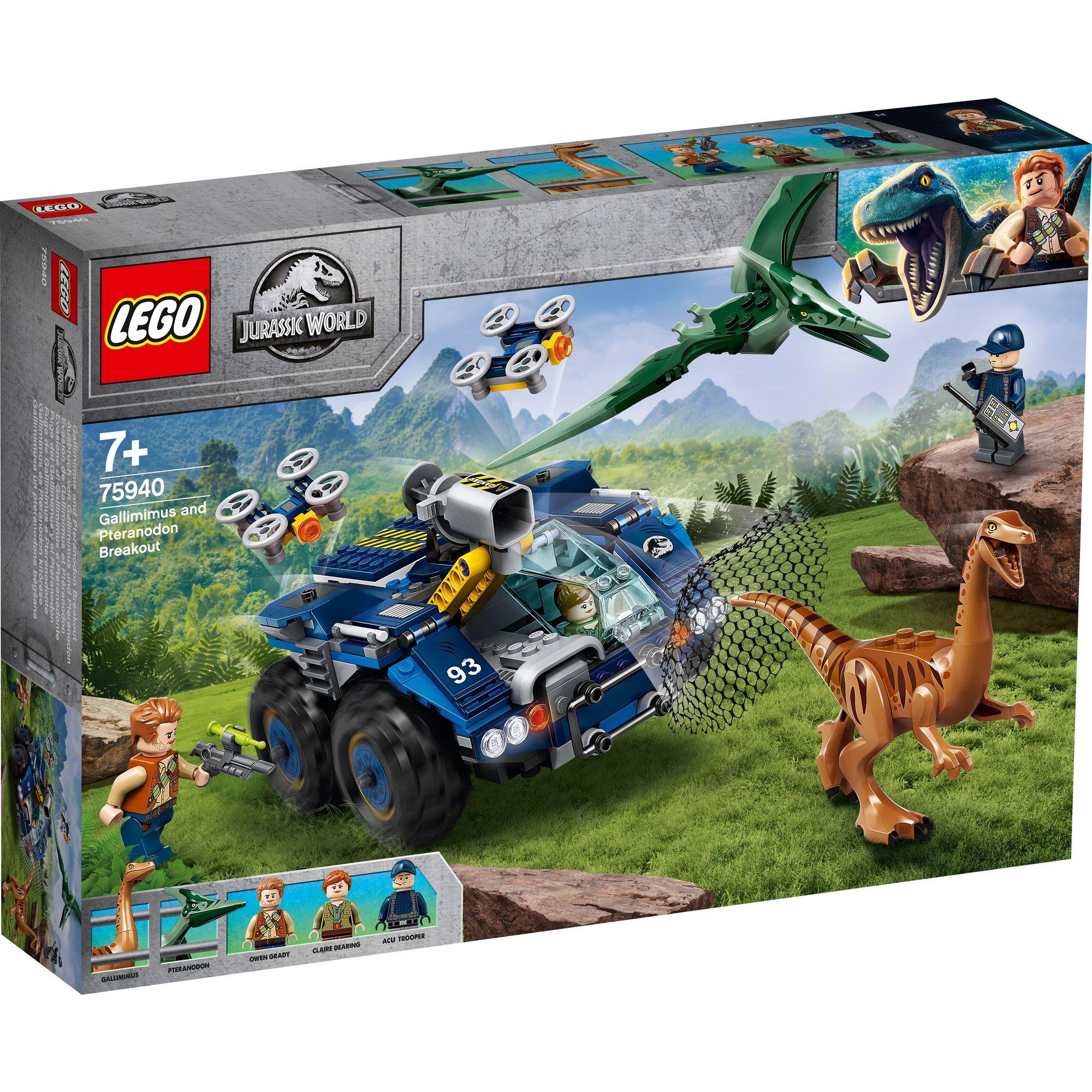 Image of LEGO Jurassic World Gallimimus Pteranodon Breakout