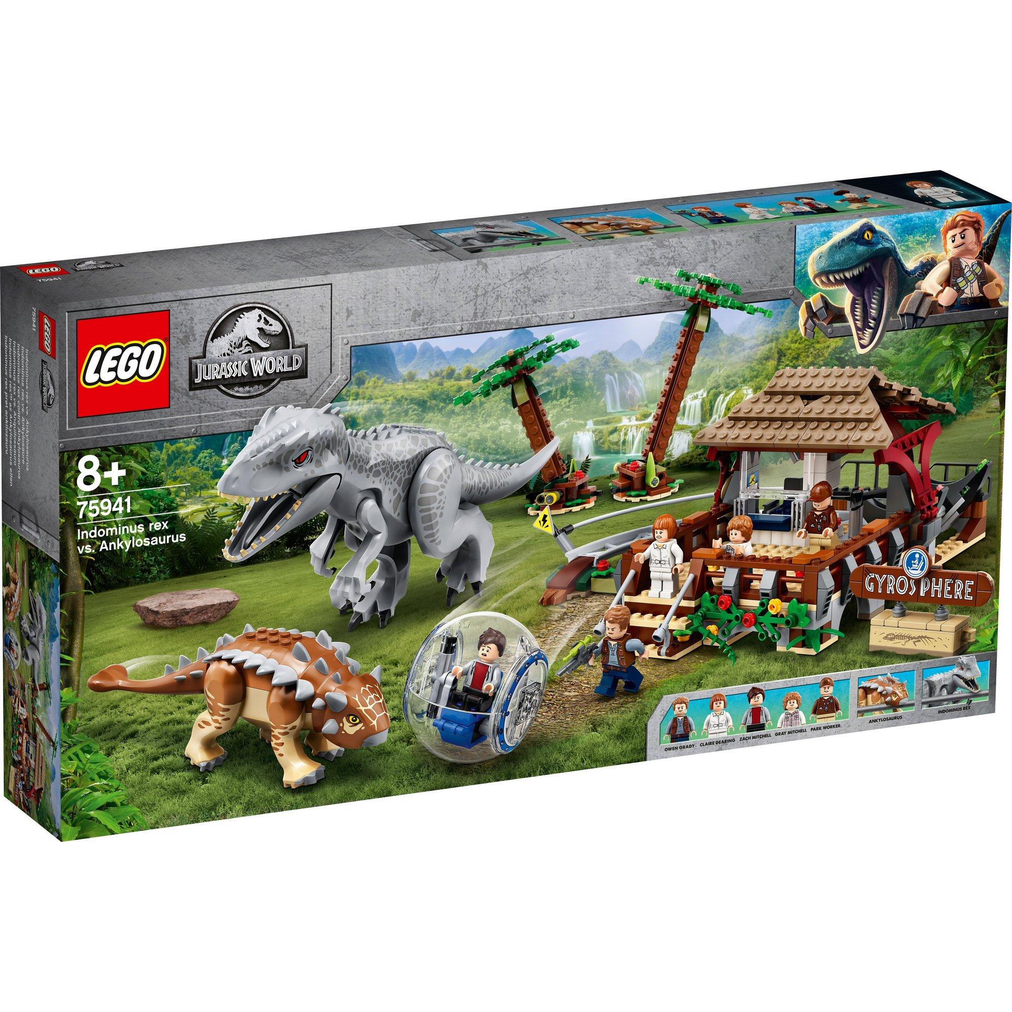 Image of LEGO Jurassic World Indominus Rex vs. Ankylosaurus