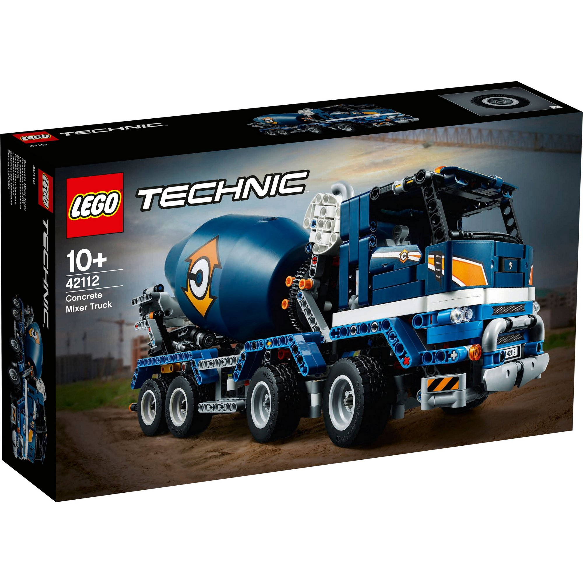 Image of LEGO Technic Concrete Mixer Truck