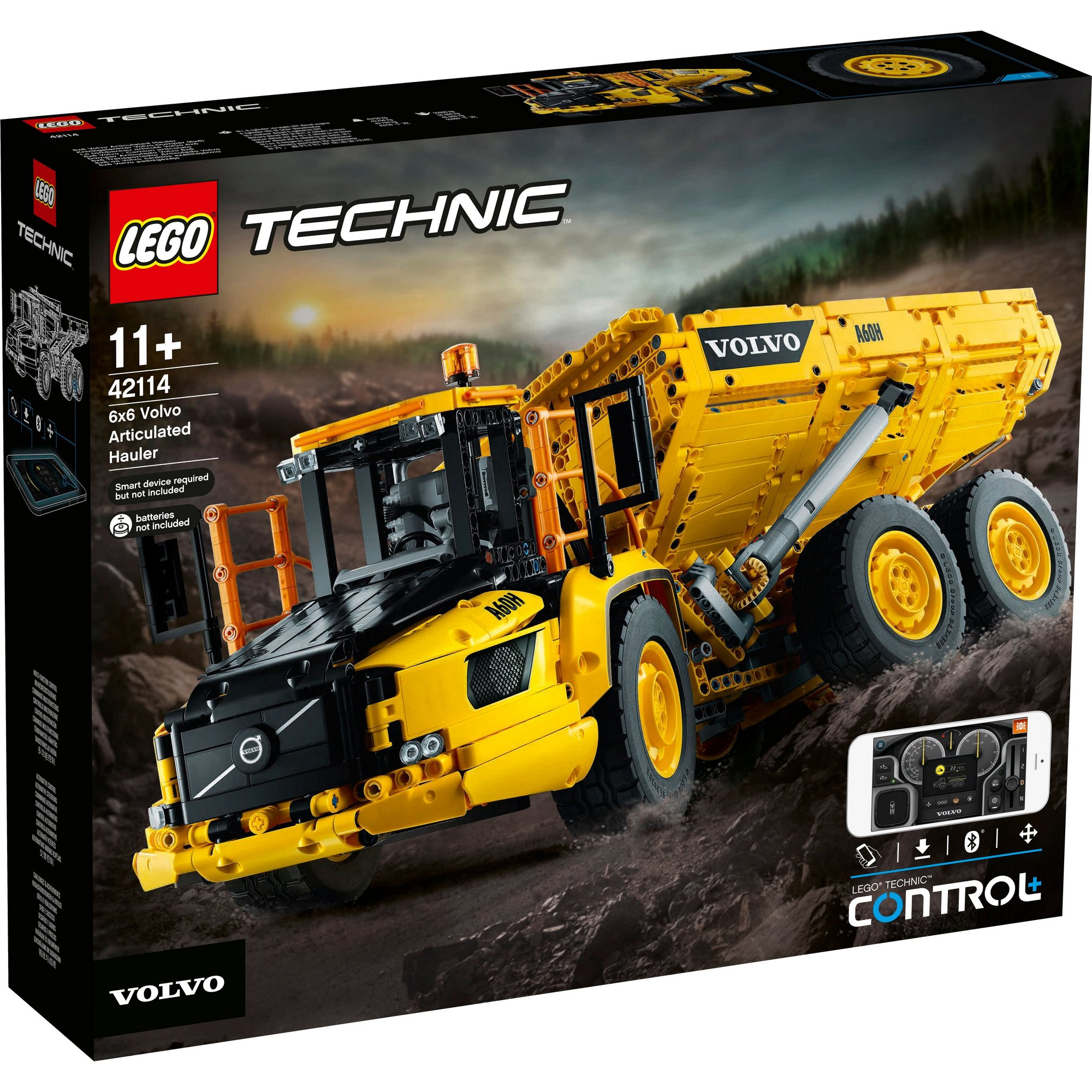 Image of LEGO Technic Power Functions 6x6 Volvo Articulated Hauler
