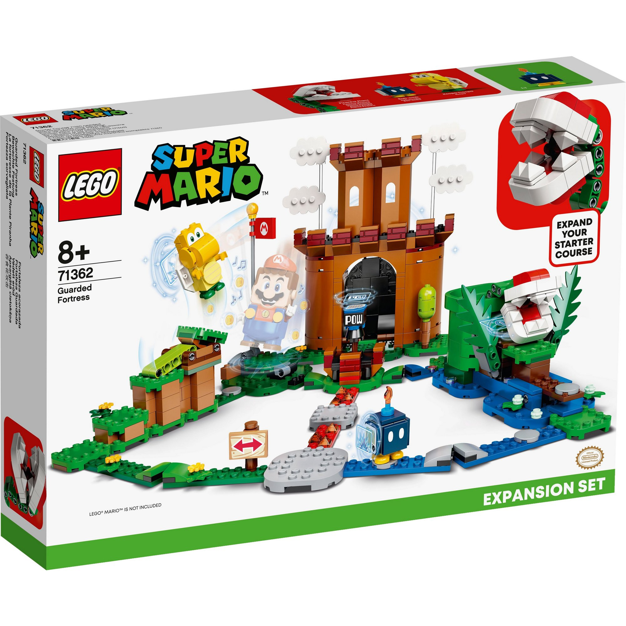 Image of LEGO Super Mario Adventures Guarded Fortress Expansion Set