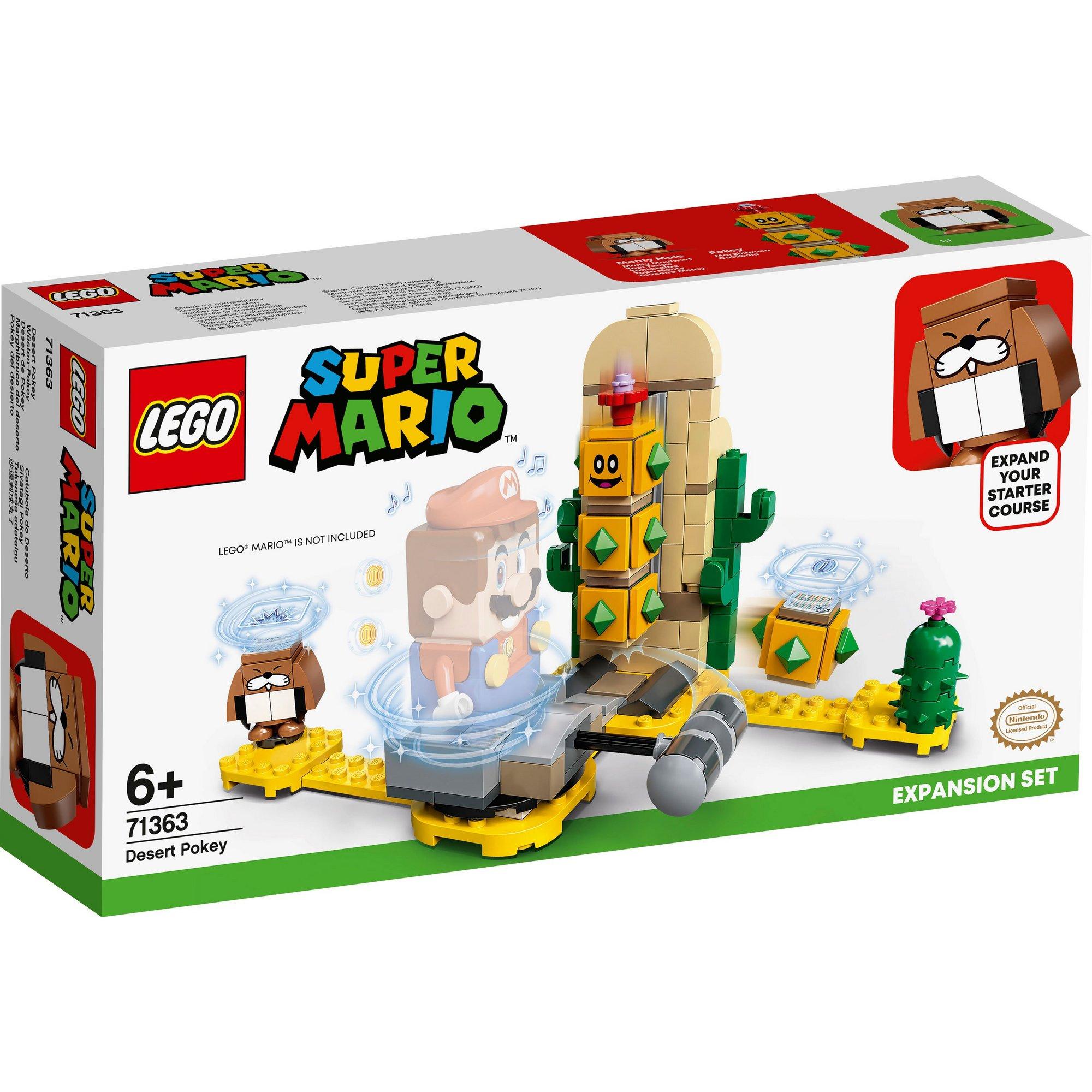 Image of LEGO Super Mario Desert Pokey Expansion Set!