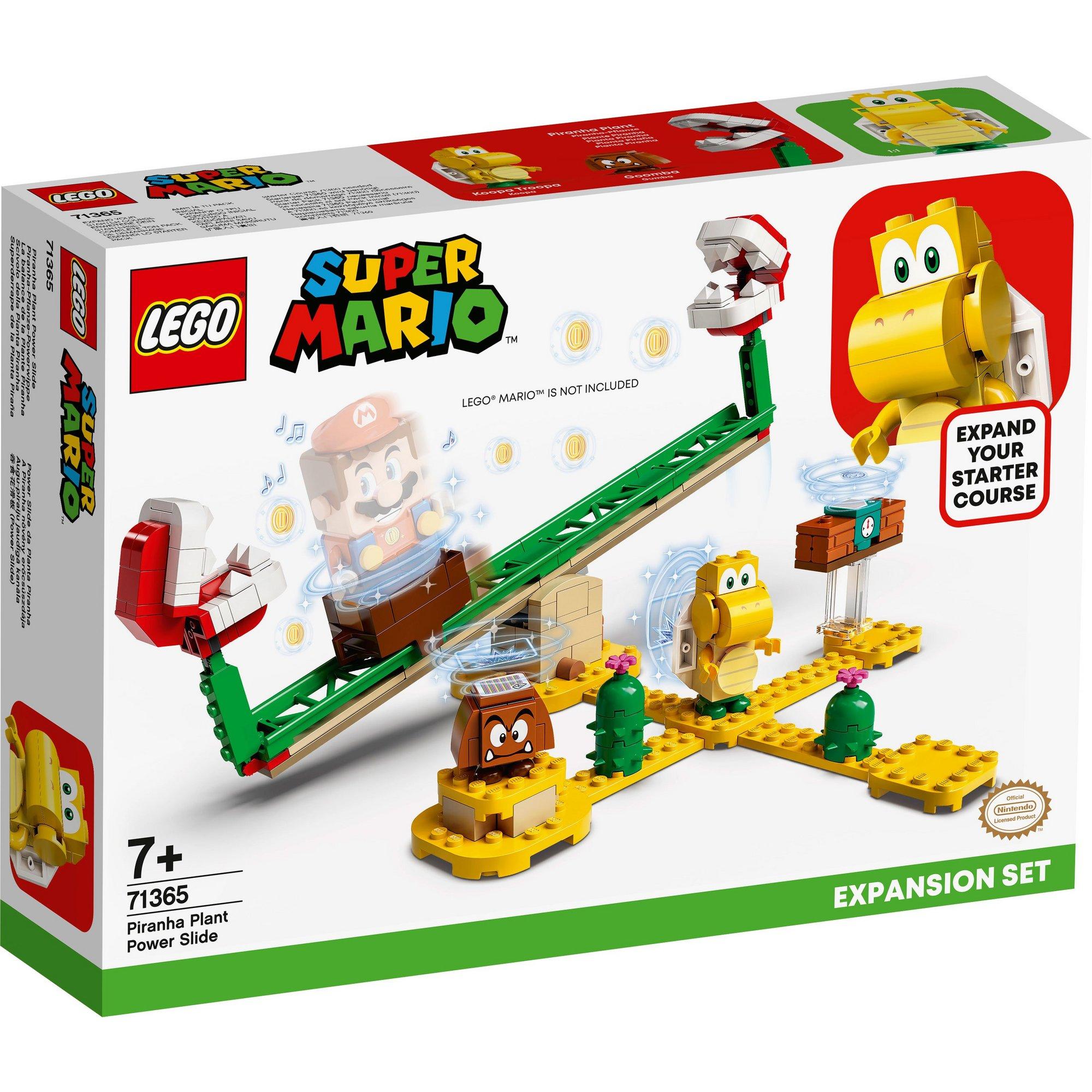 Image of LEGO Super Mario Piranha Plant Power Slide Expansion Set