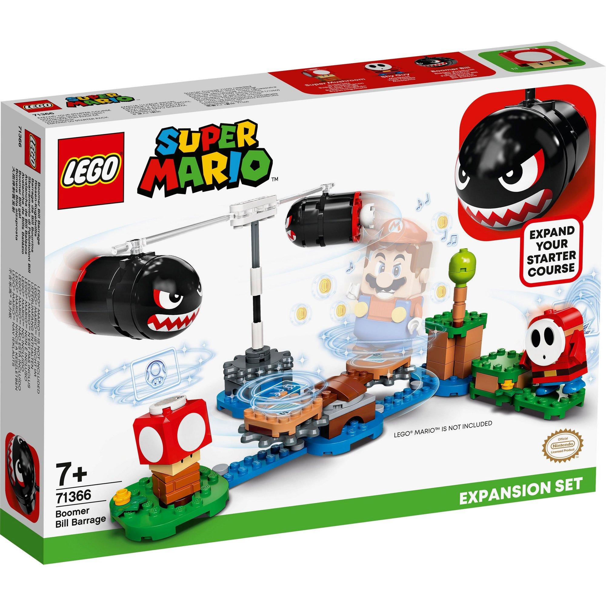 Image of LEGO Super Mario Boomer Bill Barrage Expansion Set