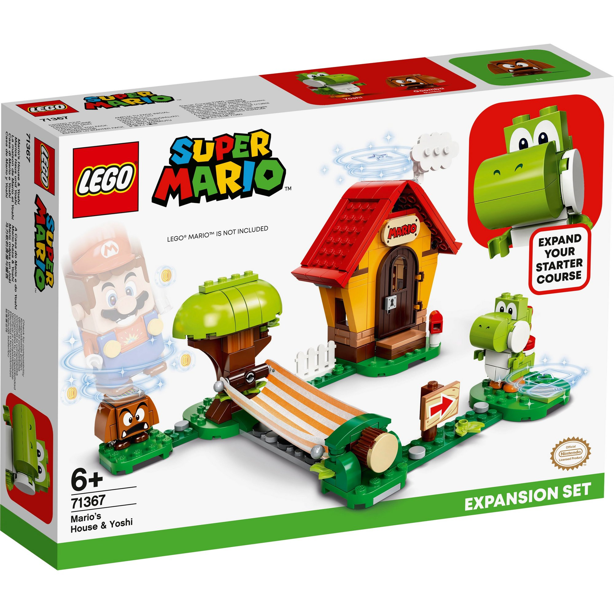 Image of LEGO Super Mario Marios House and Yoshi Expansion Set
