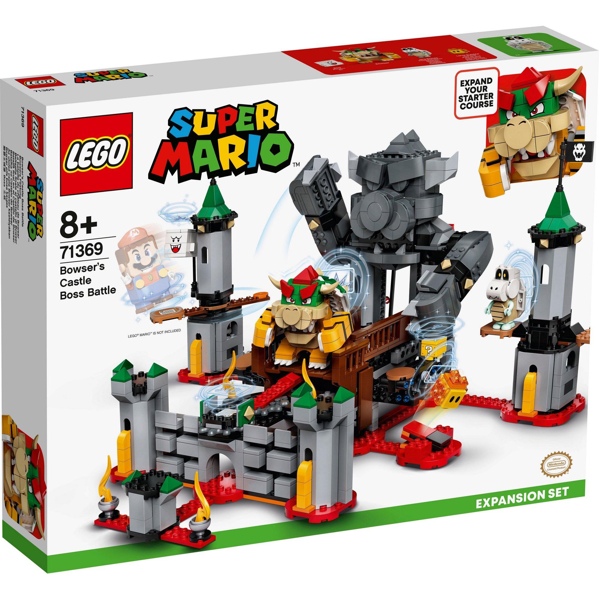 Image of LEGO Super Mario Bowsers Castle Boss Battle Expansion Set